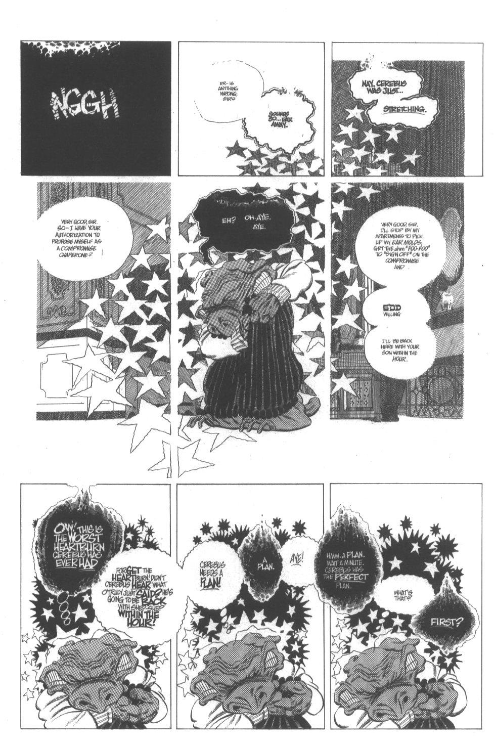 Cerebus Issue #296 #294 - English 9