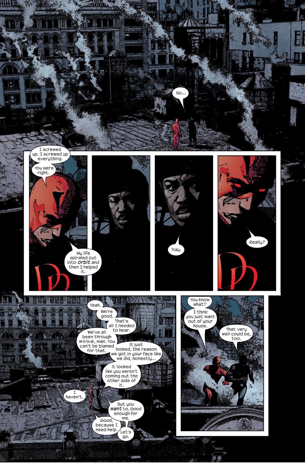 Read online Daredevil (1998) comic -  Issue # _Ultimate_Collection TPB 2 (Part 4) - 13