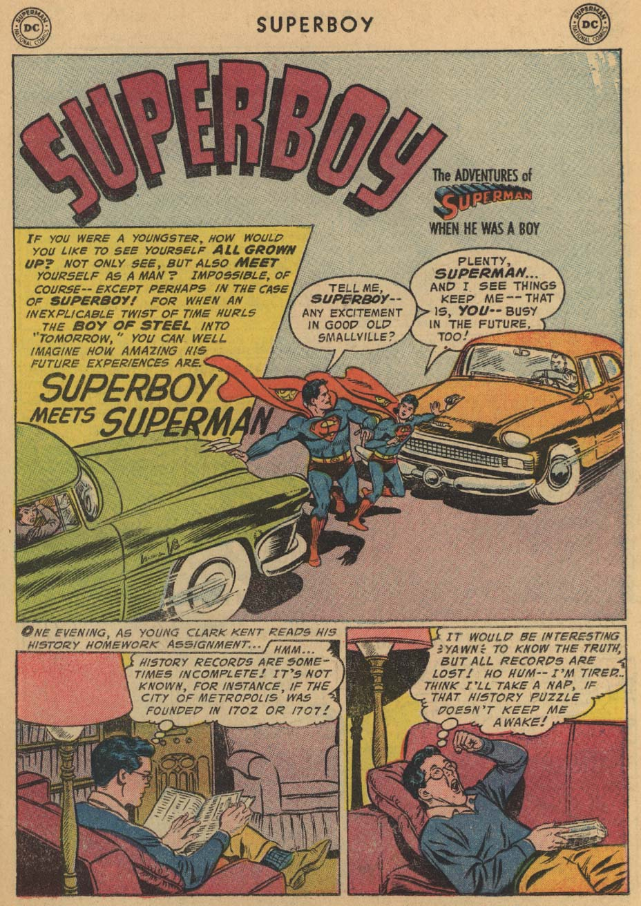 Superboy (1949) issue 47 - Page 22