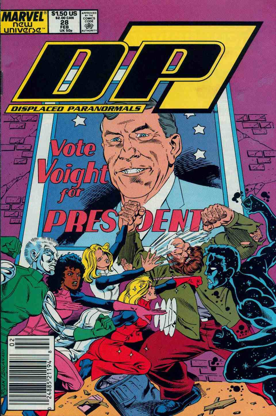 Read online DP7 comic -  Issue #28 - 1