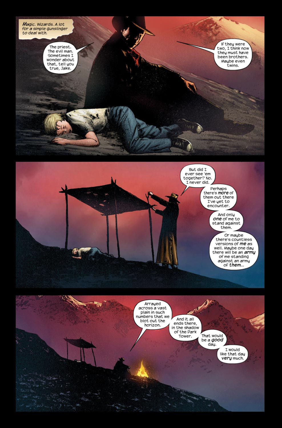 Read online Dark Tower: The Gunslinger - The Way Station comic -  Issue #4 - 7