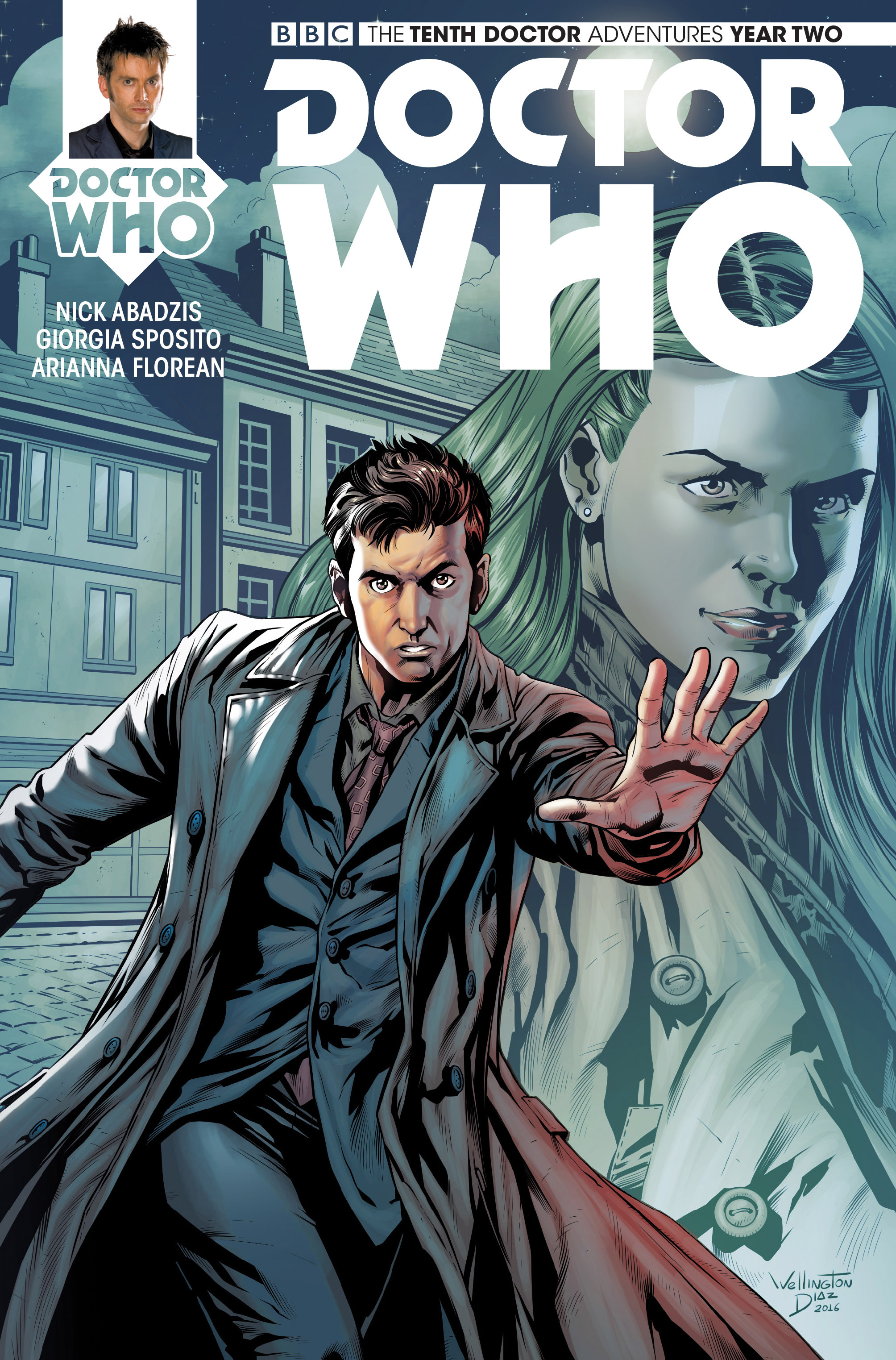 Doctor Who: The Tenth Doctor Year Two 17 Page 1