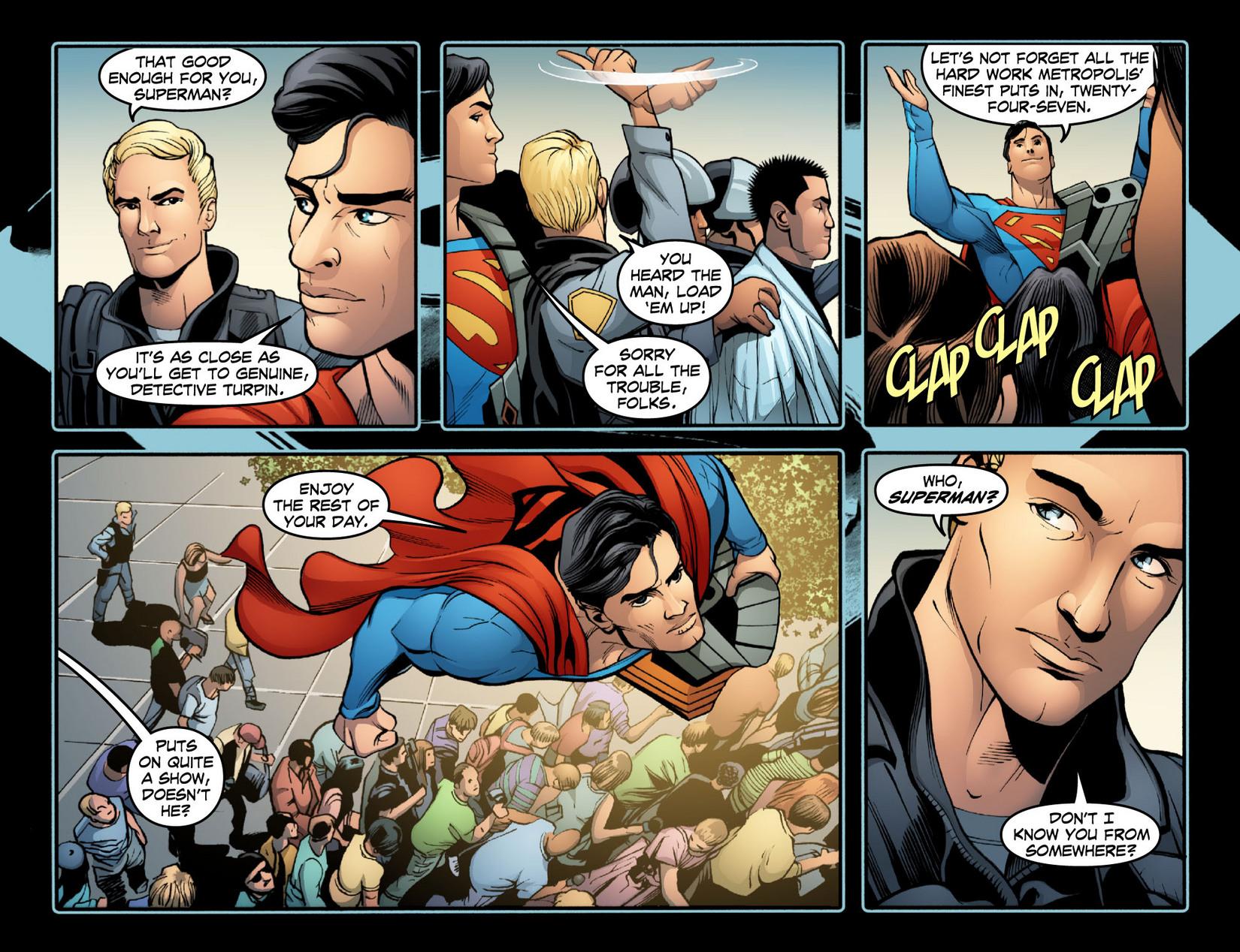Read online Smallville: Season 11 comic -  Issue #15 - 4