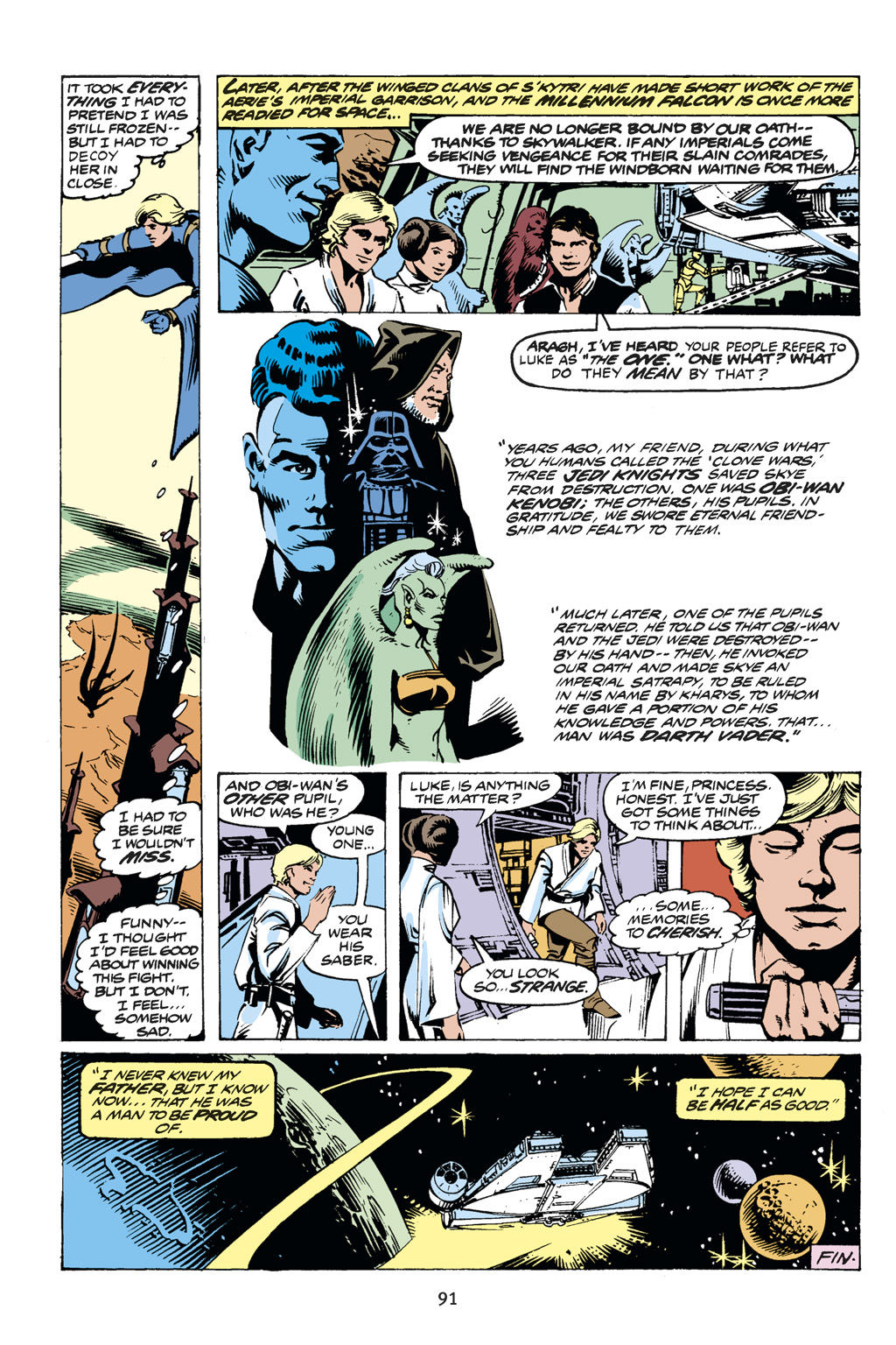 Read online Star Wars Omnibus comic -  Issue # Vol. 14 - 91