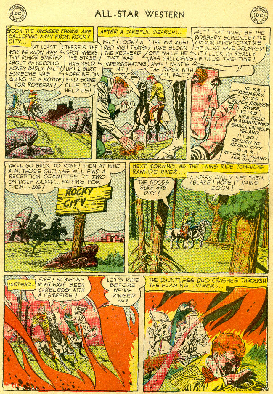 Read online All-Star Western (1951) comic -  Issue #82 - 5