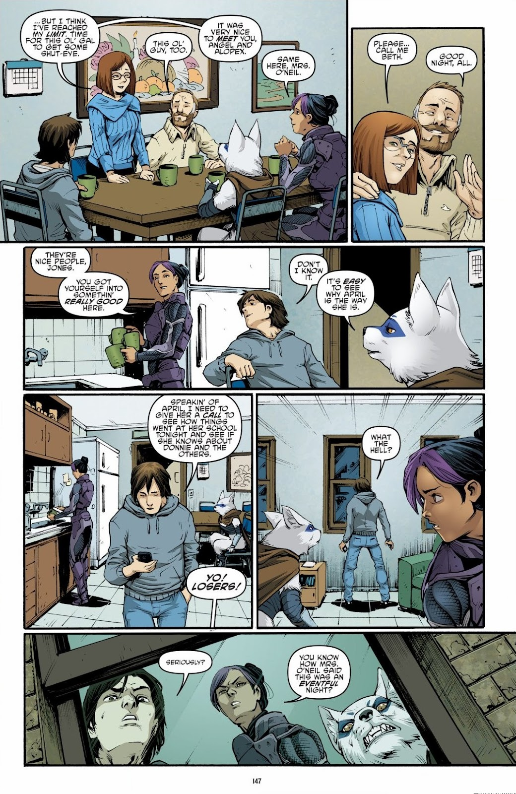 Read online Teenage Mutant Ninja Turtles: The IDW Collection comic -  Issue # TPB 6 (Part 2) - 45