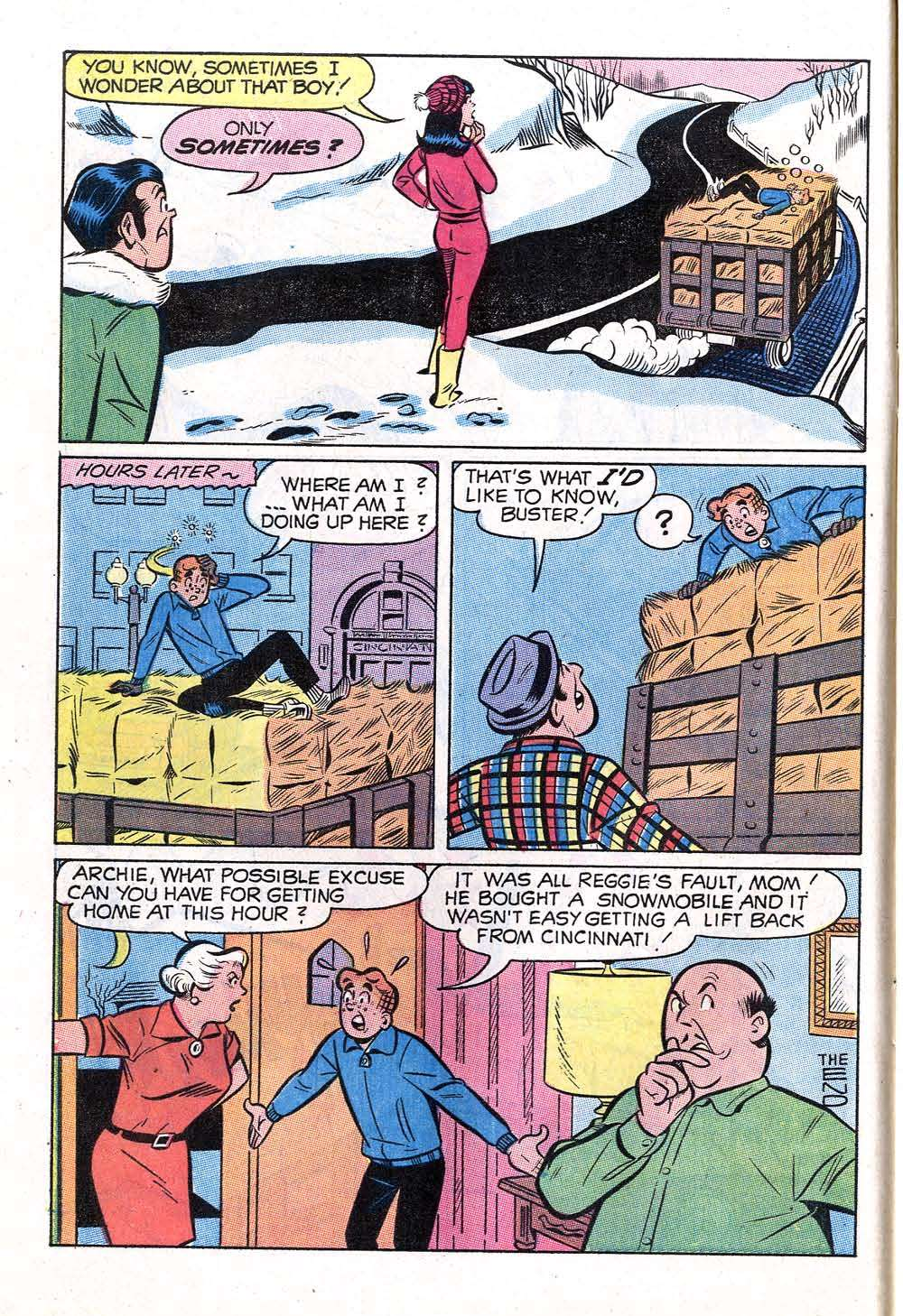 Read online Archie (1960) comic -  Issue #199 - 8