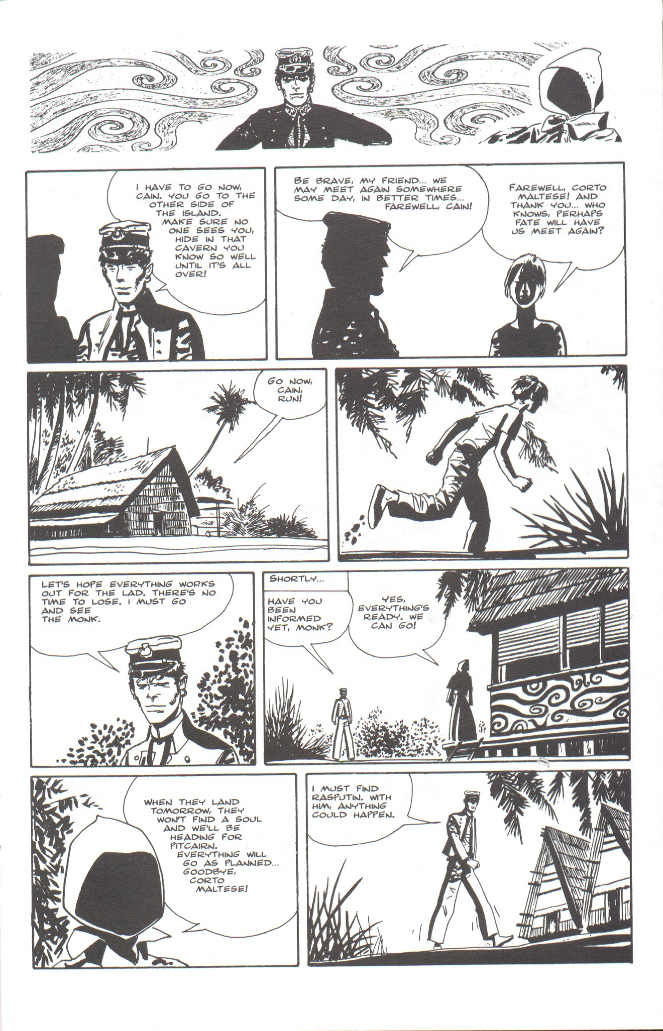 Read online Corto Maltese: Ballad of the Salt Sea comic -  Issue #6 - 19