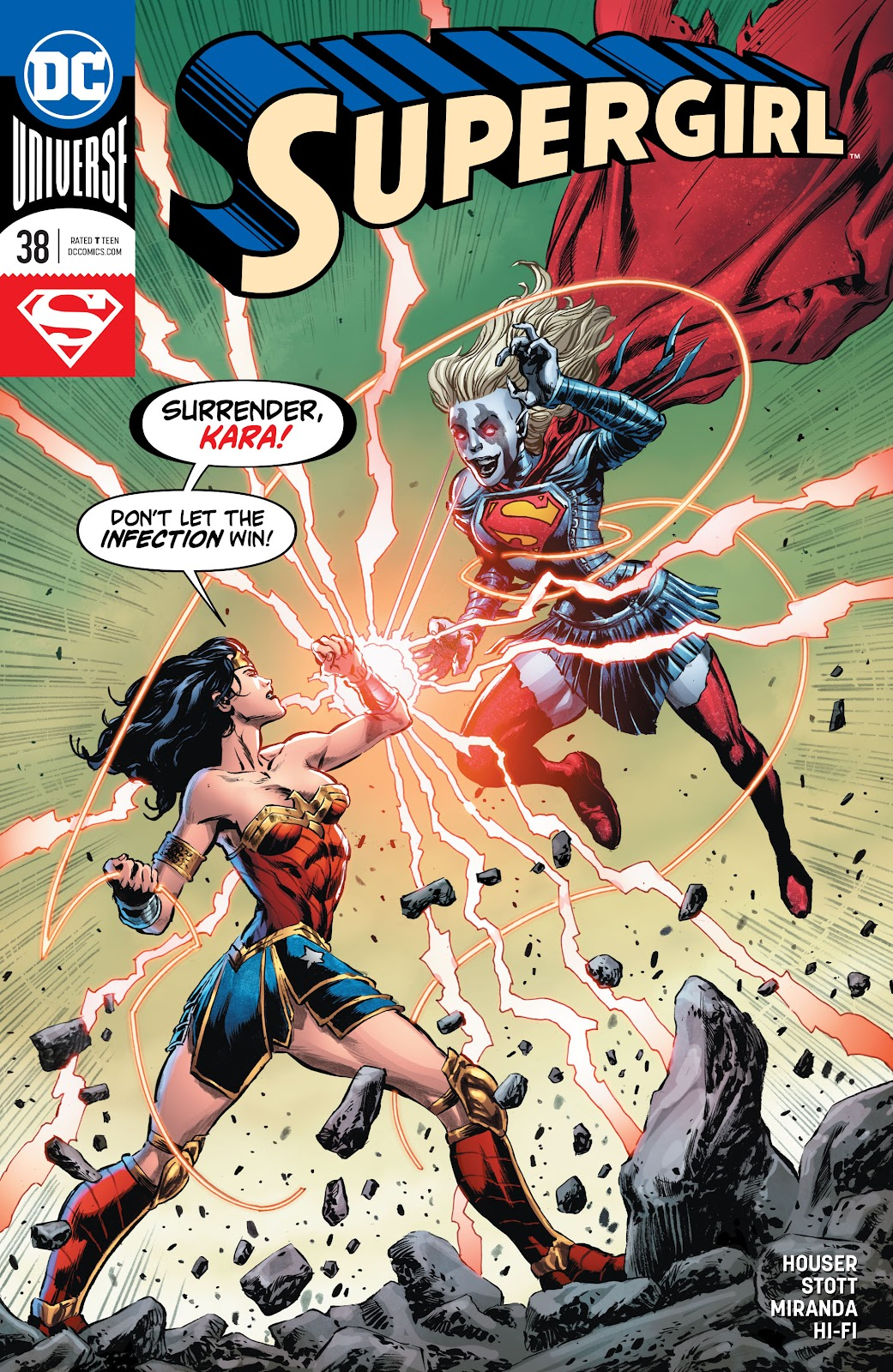 Read online Supergirl (2016) comic -  Issue #38 - 1