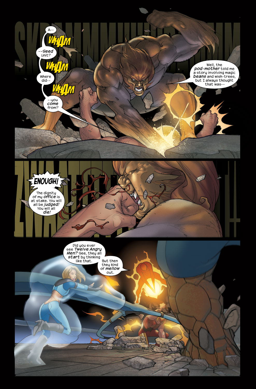 Read online Ultimate Fantastic Four (2004) comic -  Issue #38 - 11