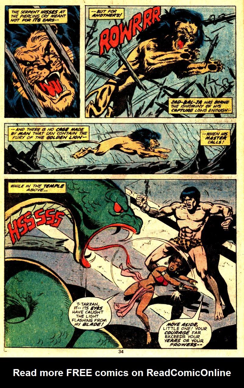 Read online Tarzan (1977) comic -  Issue # _Annual 2 - 26