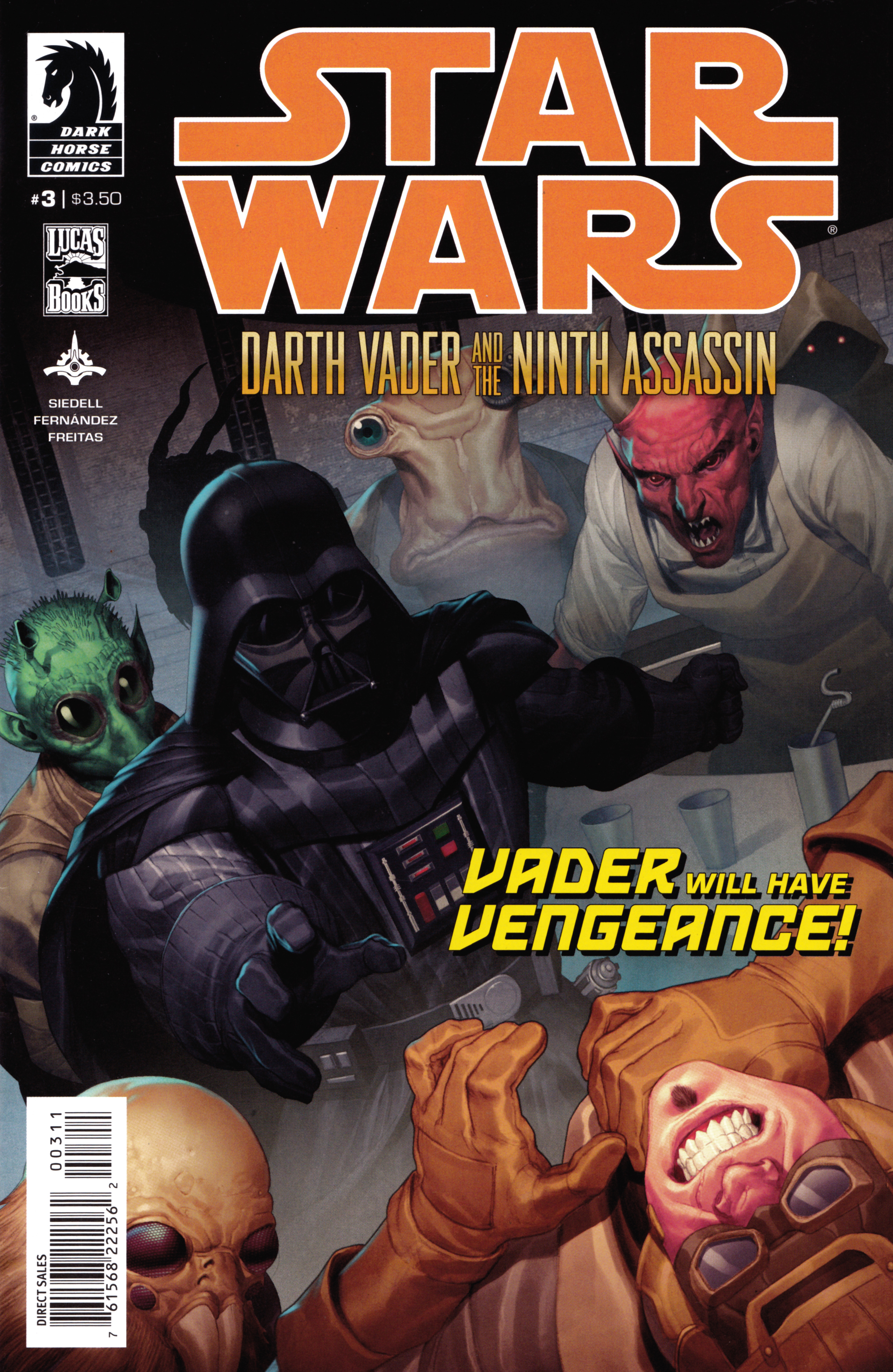 Star Wars: Darth Vader and the Ninth Assassin 3 Page 1