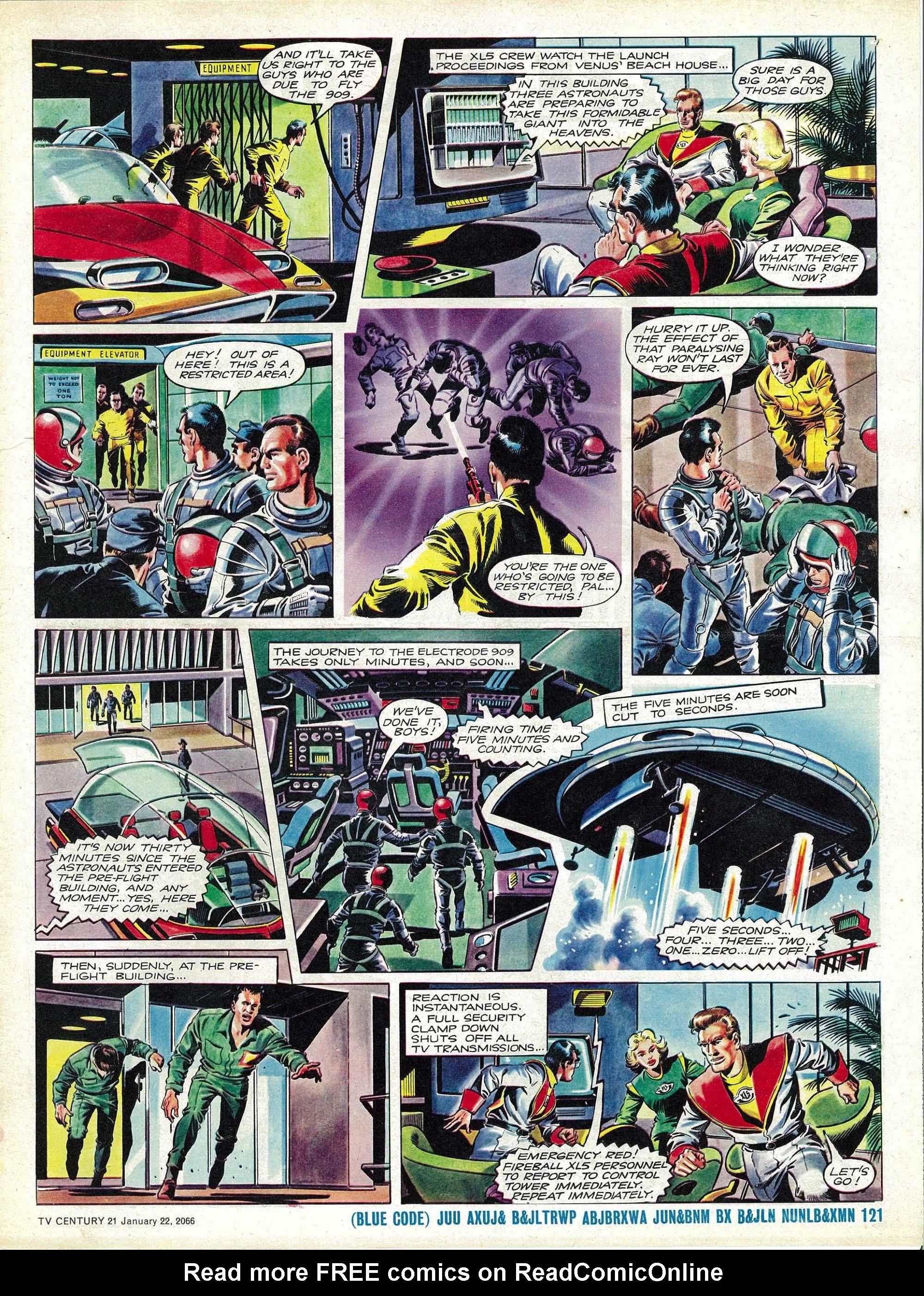 Read online TV Century 21 (TV 21) comic -  Issue #53 - 16