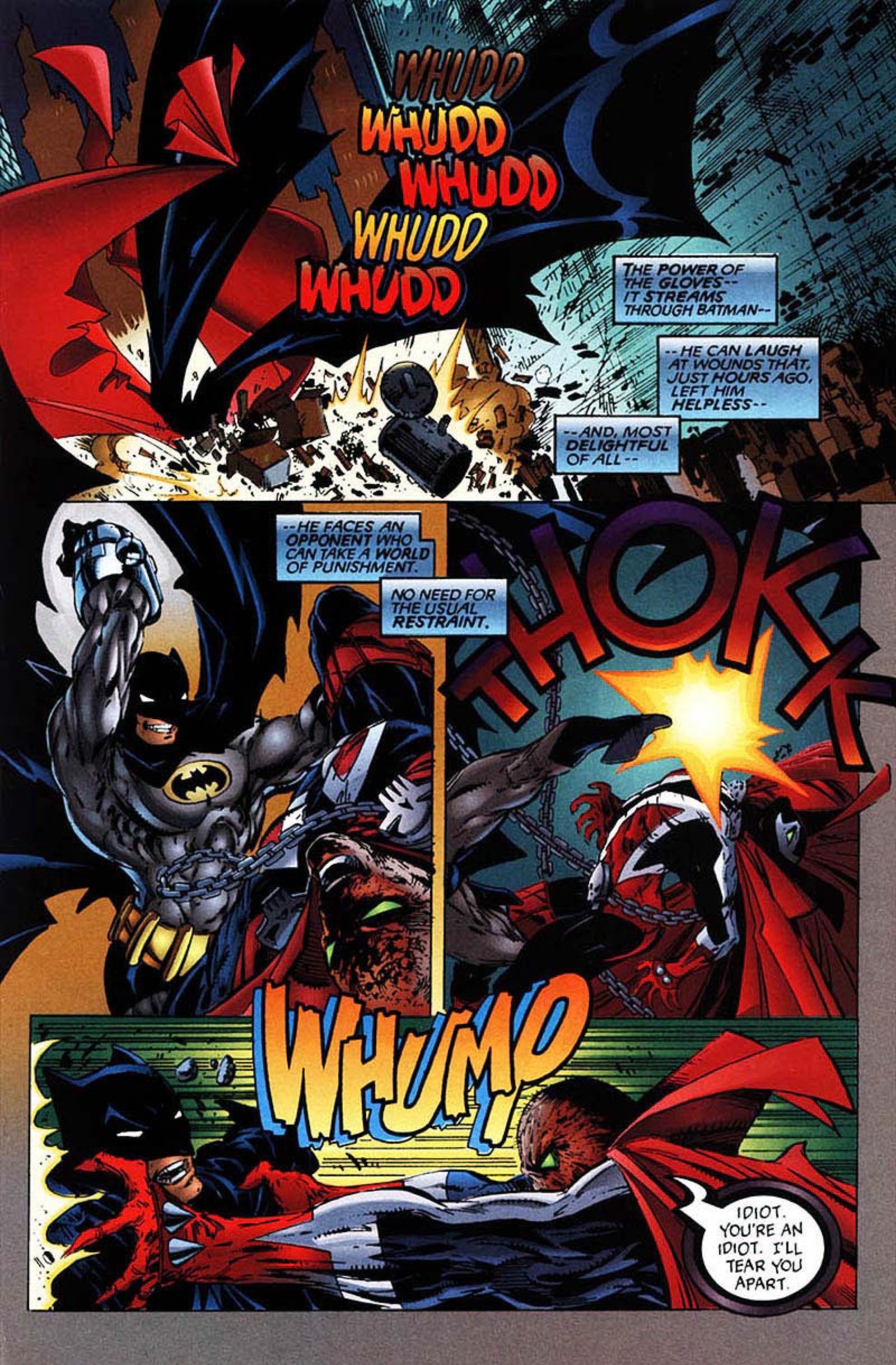 Read online Spawn-Batman comic -  Issue # Full - 33