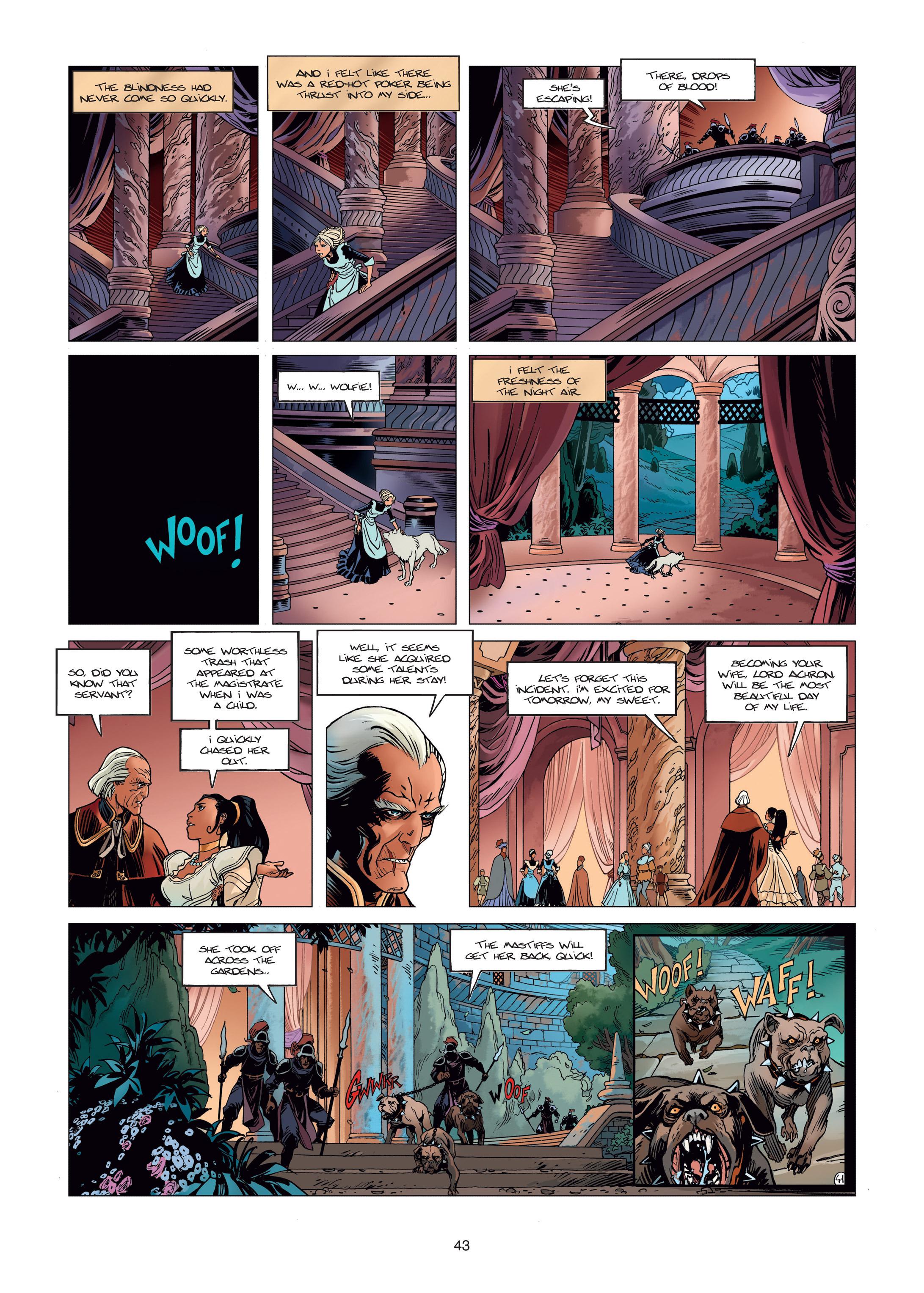 Read online Sangre Vol. 1: Sangre the Survivor comic -  Issue # Full - 43