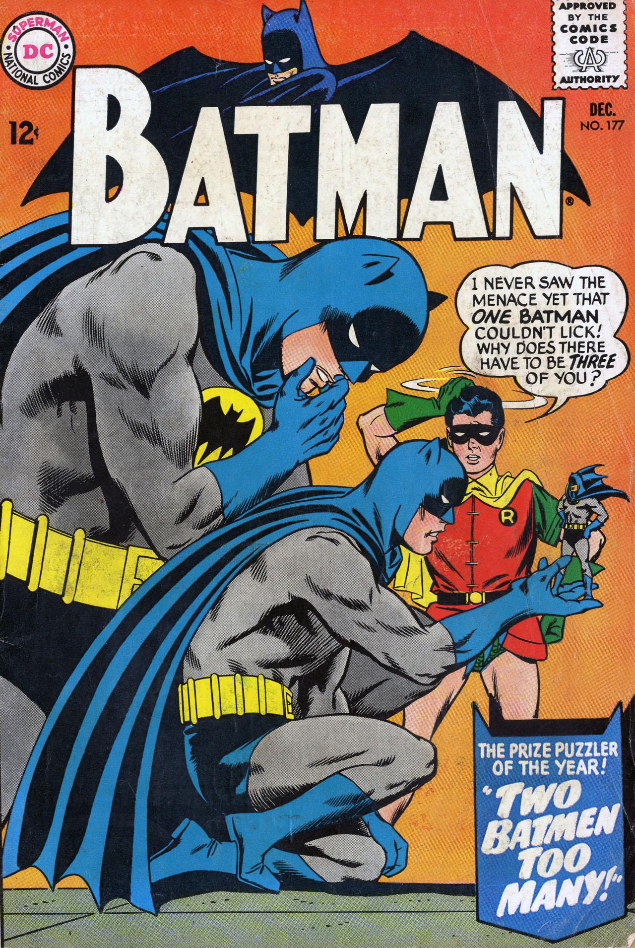 Batman (1940) 177 Page 1
