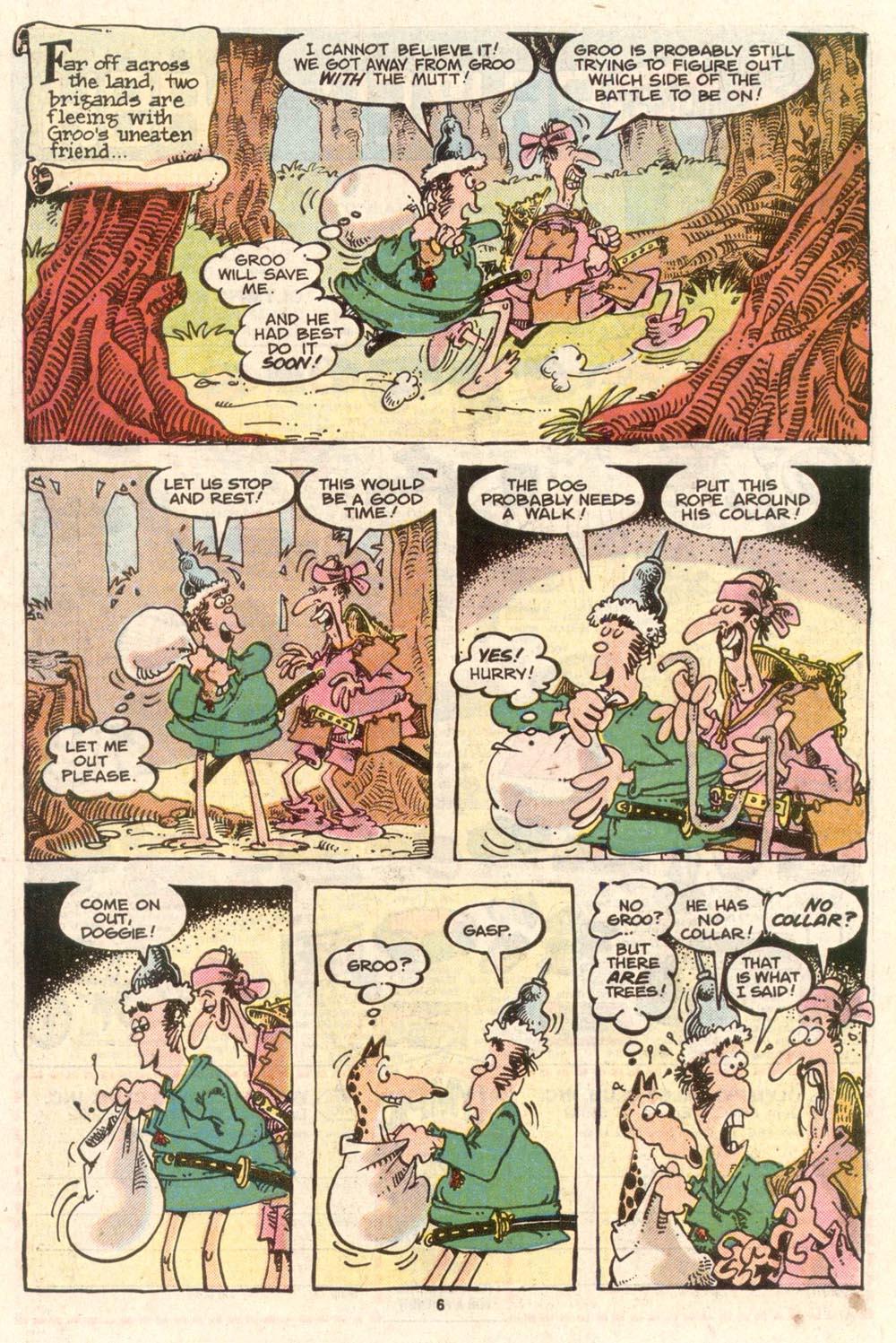 Read online Sergio Aragonés Groo the Wanderer comic -  Issue #39 - 6