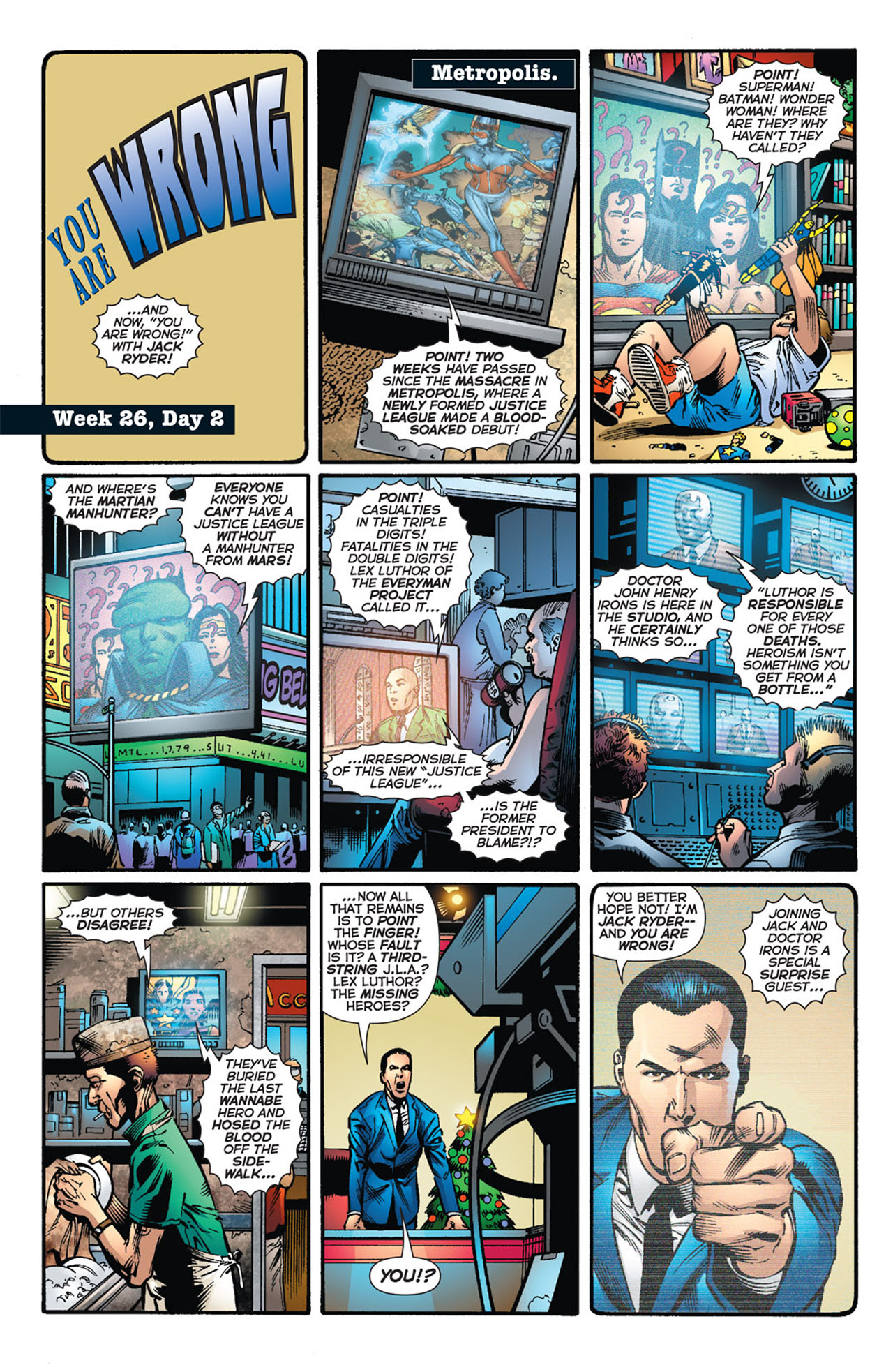 Read online 52 comic -  Issue #26 - 7