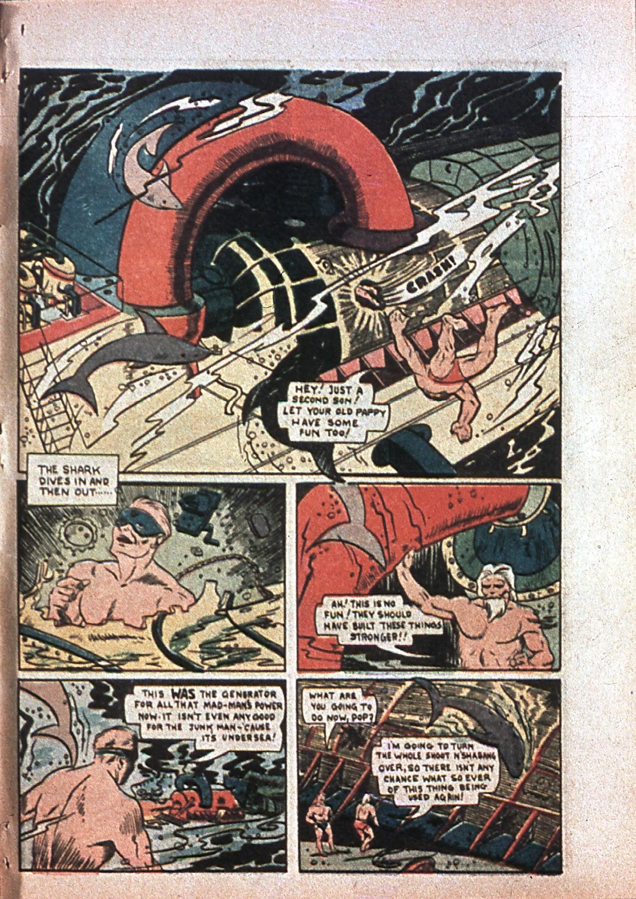 Read online Amazing Man Comics comic -  Issue #7 - 66