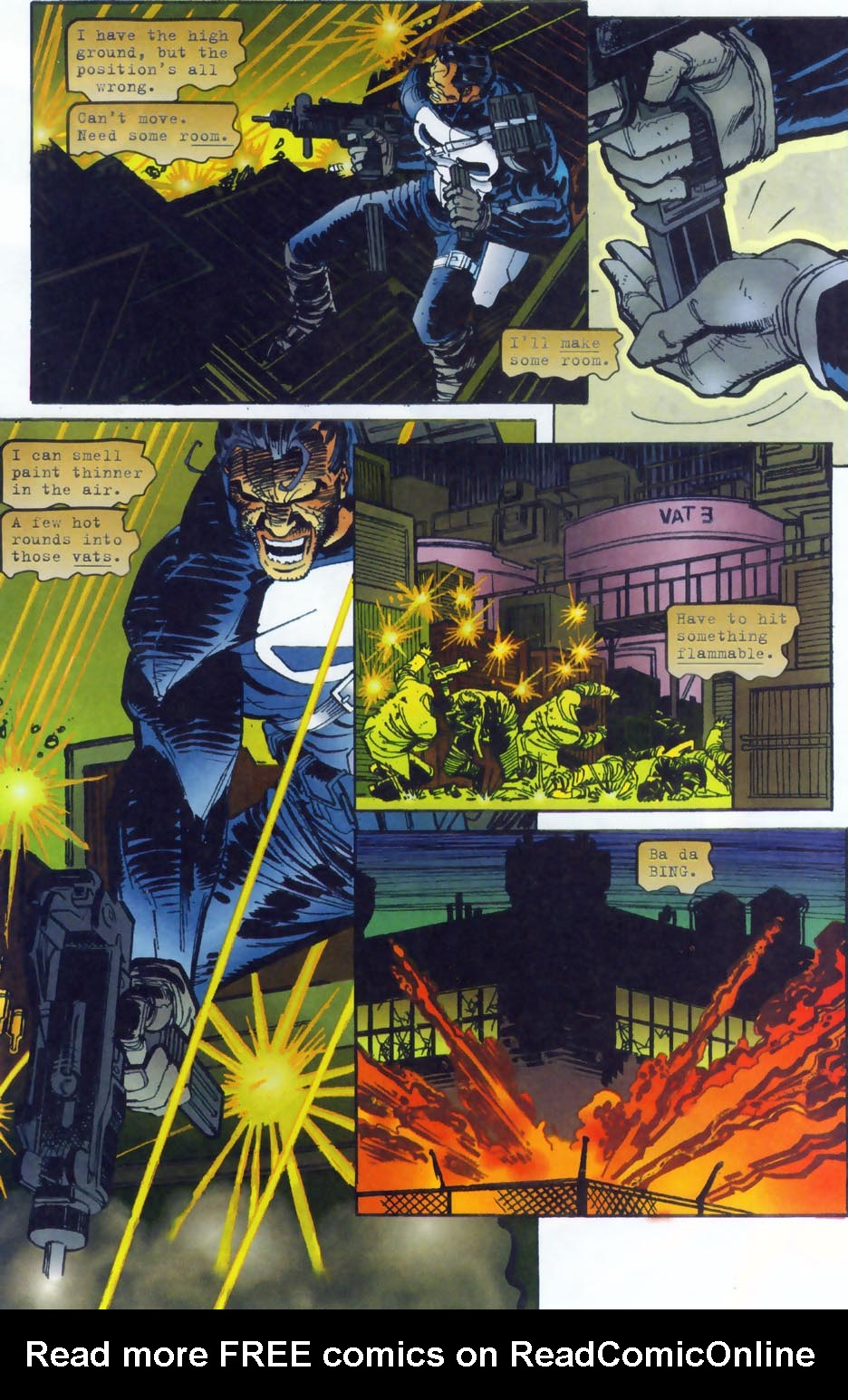 Read online Punisher/Batman: Deadly Knights comic -  Issue # Full - 7
