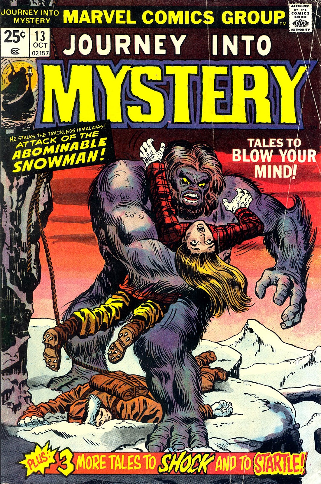 Journey Into Mystery (1972) issue 13 - Page 1