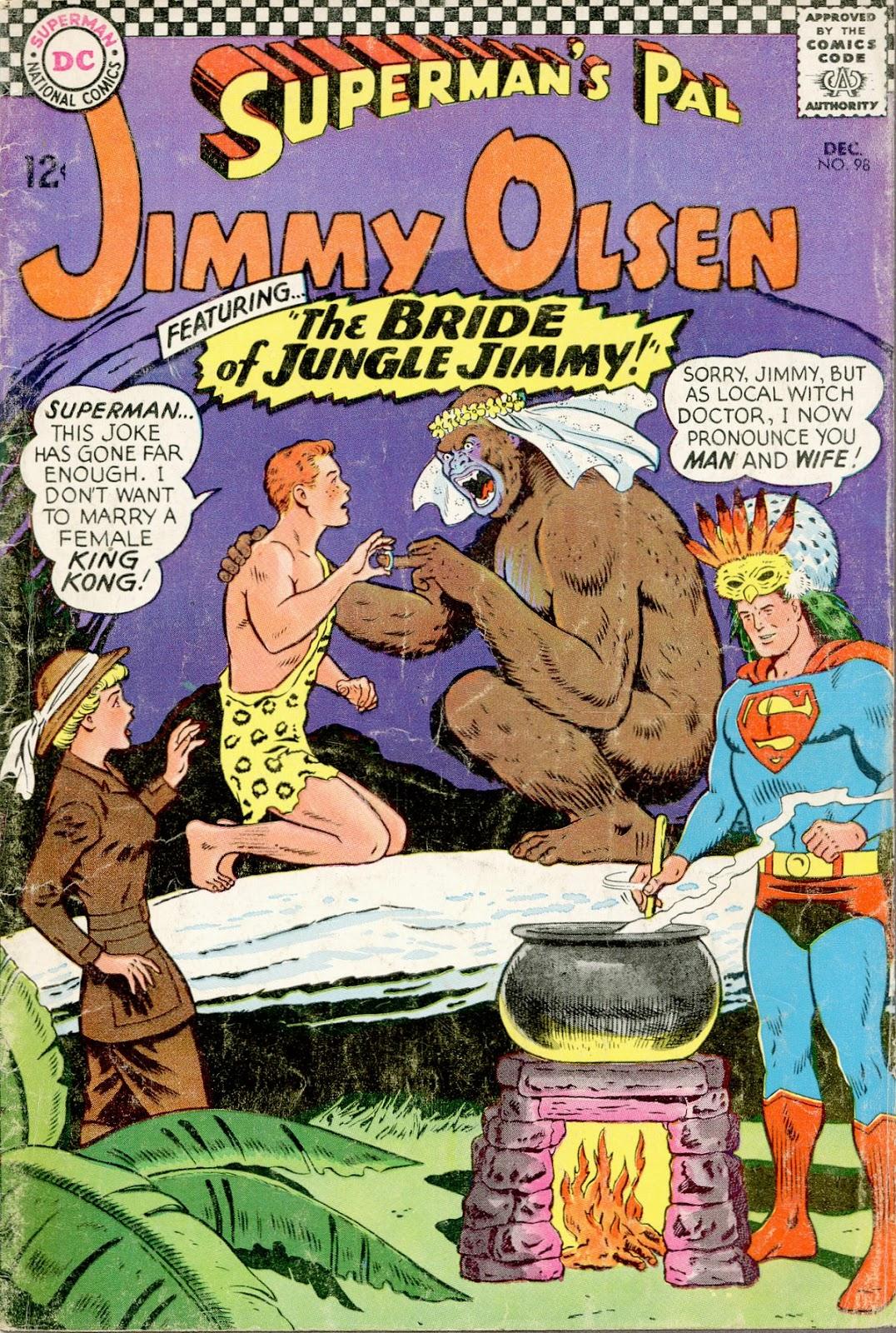Supermans Pal Jimmy Olsen (1954) 98 Page 1