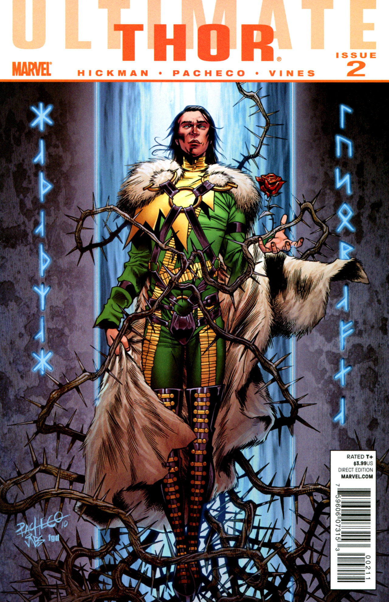 Read online Ultimate Thor comic -  Issue #2 - 1