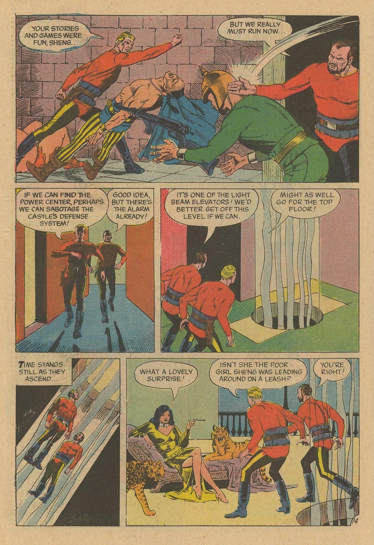 Flash Gordon (1969) issue 12 - Page 18