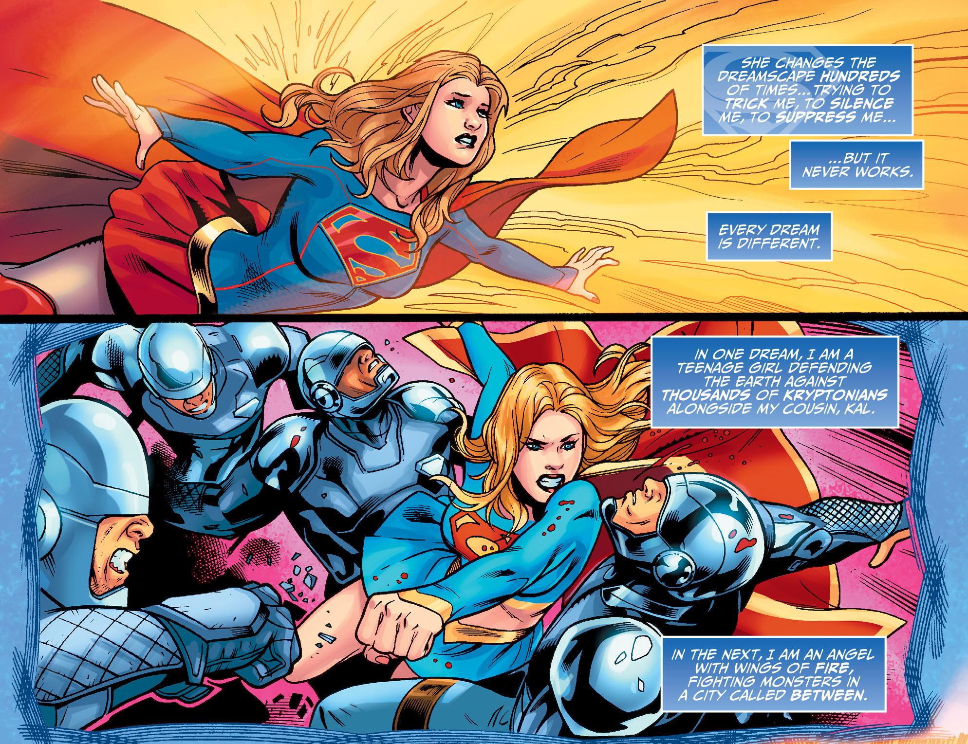 Read online Adventures of Supergirl comic -  Issue #7 - 9