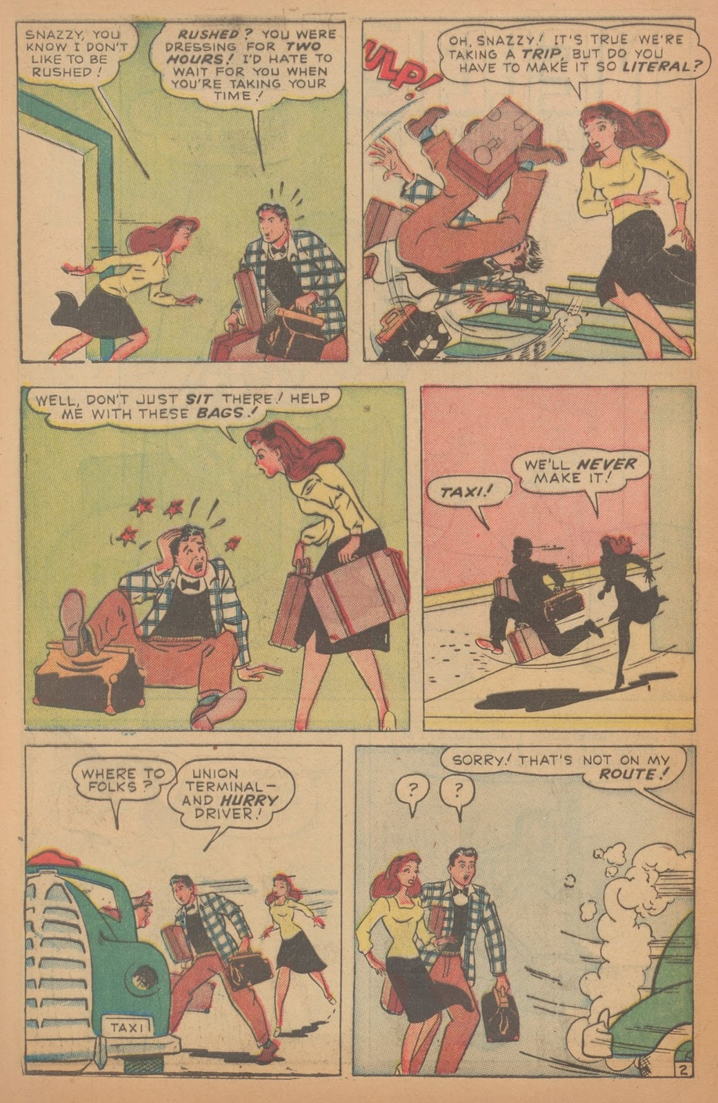 Read online Nellie The Nurse (1945) comic -  Issue #18 - 42