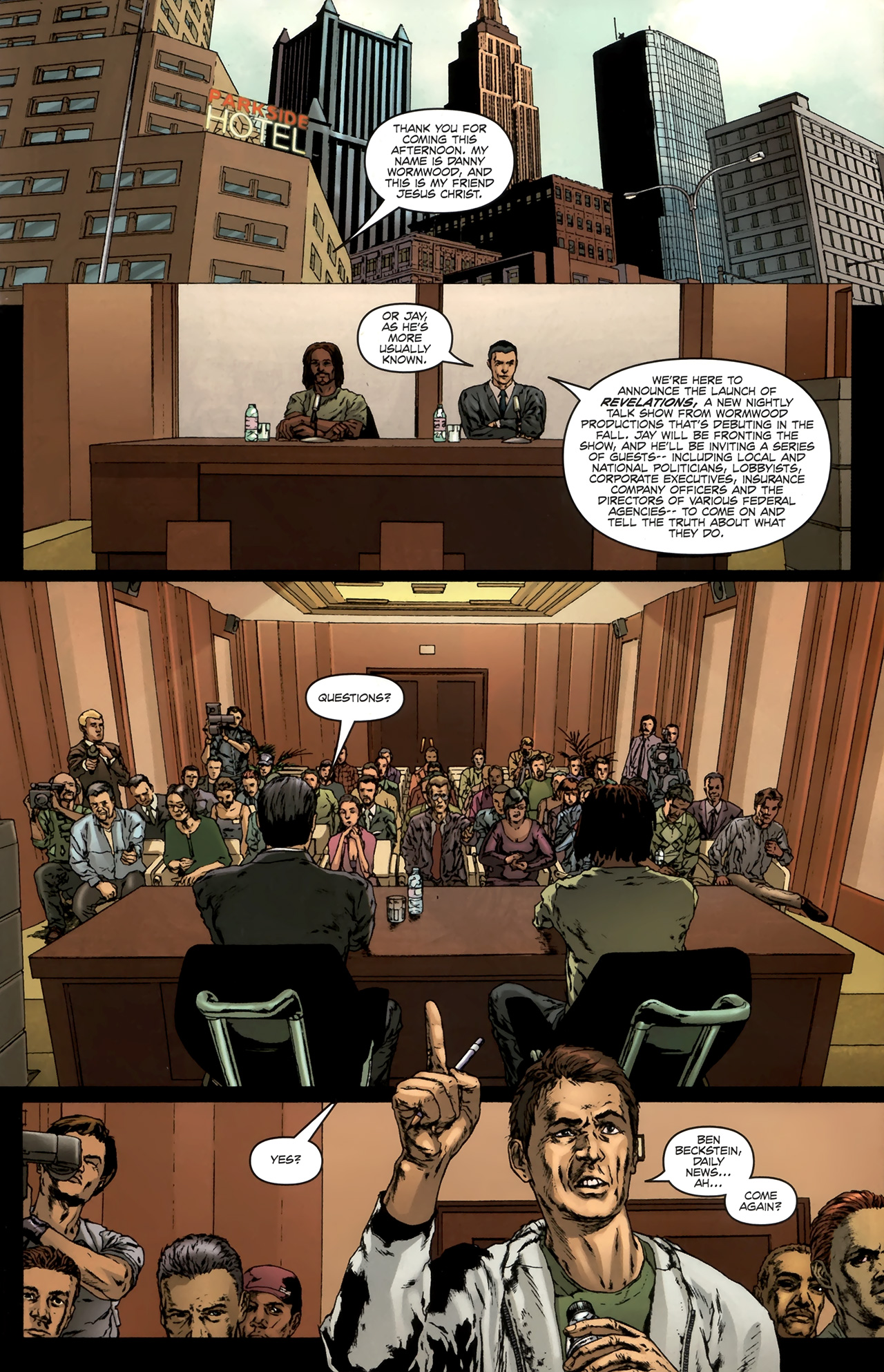 Read online Chronicles of Wormwood: The Last Battle comic -  Issue #6 - 26