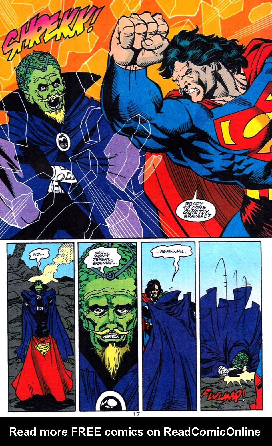 Read online Adventures of Superman (1987) comic -  Issue #519 - 18