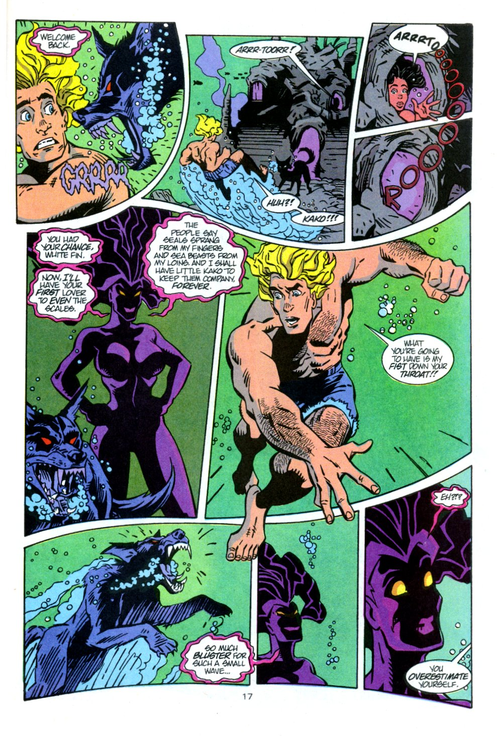 Read online Aquaman: Time and Tide comic -  Issue #3 - 18