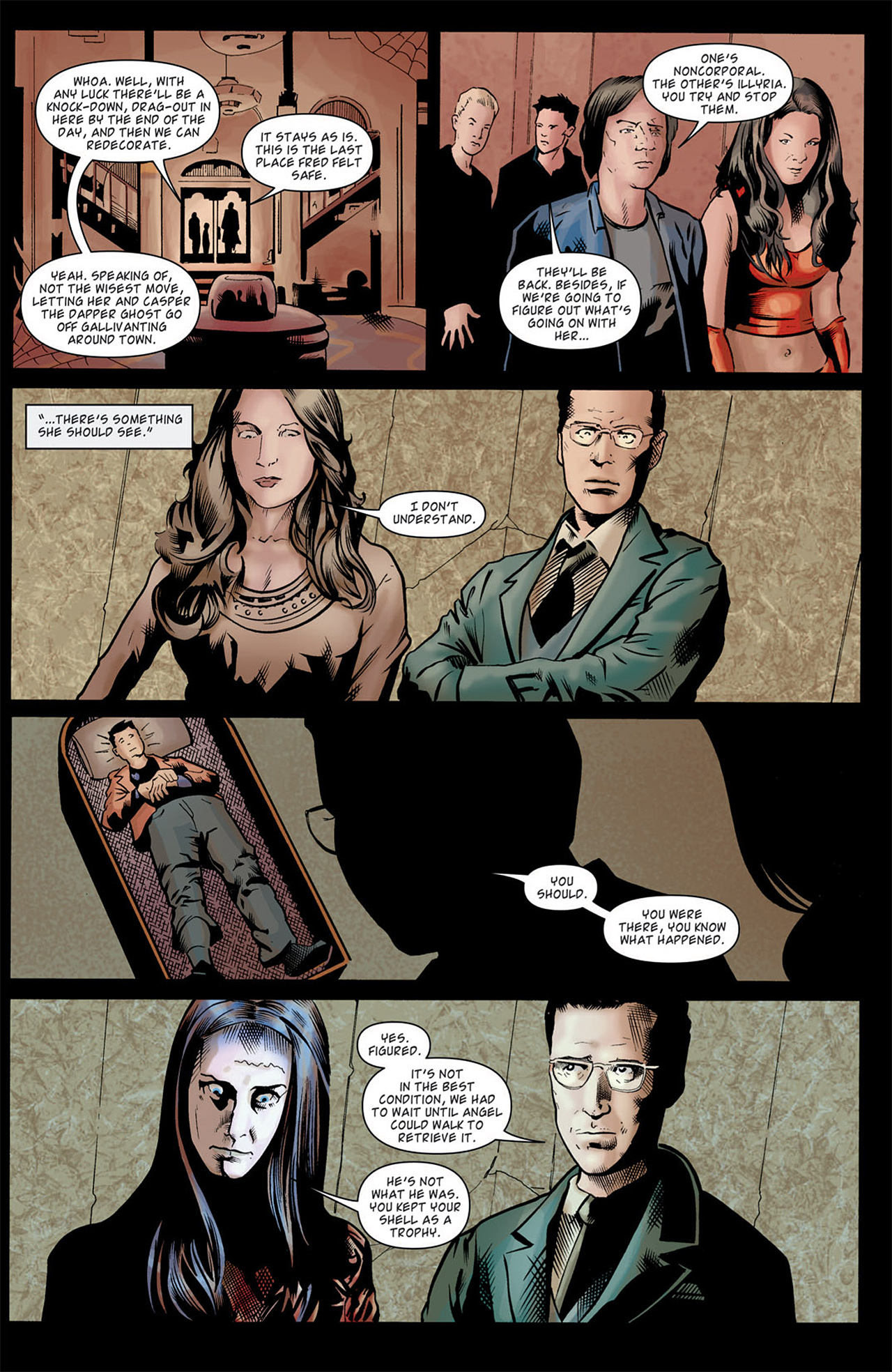 Read online Angel: After The Fall comic -  Issue #9 - 21