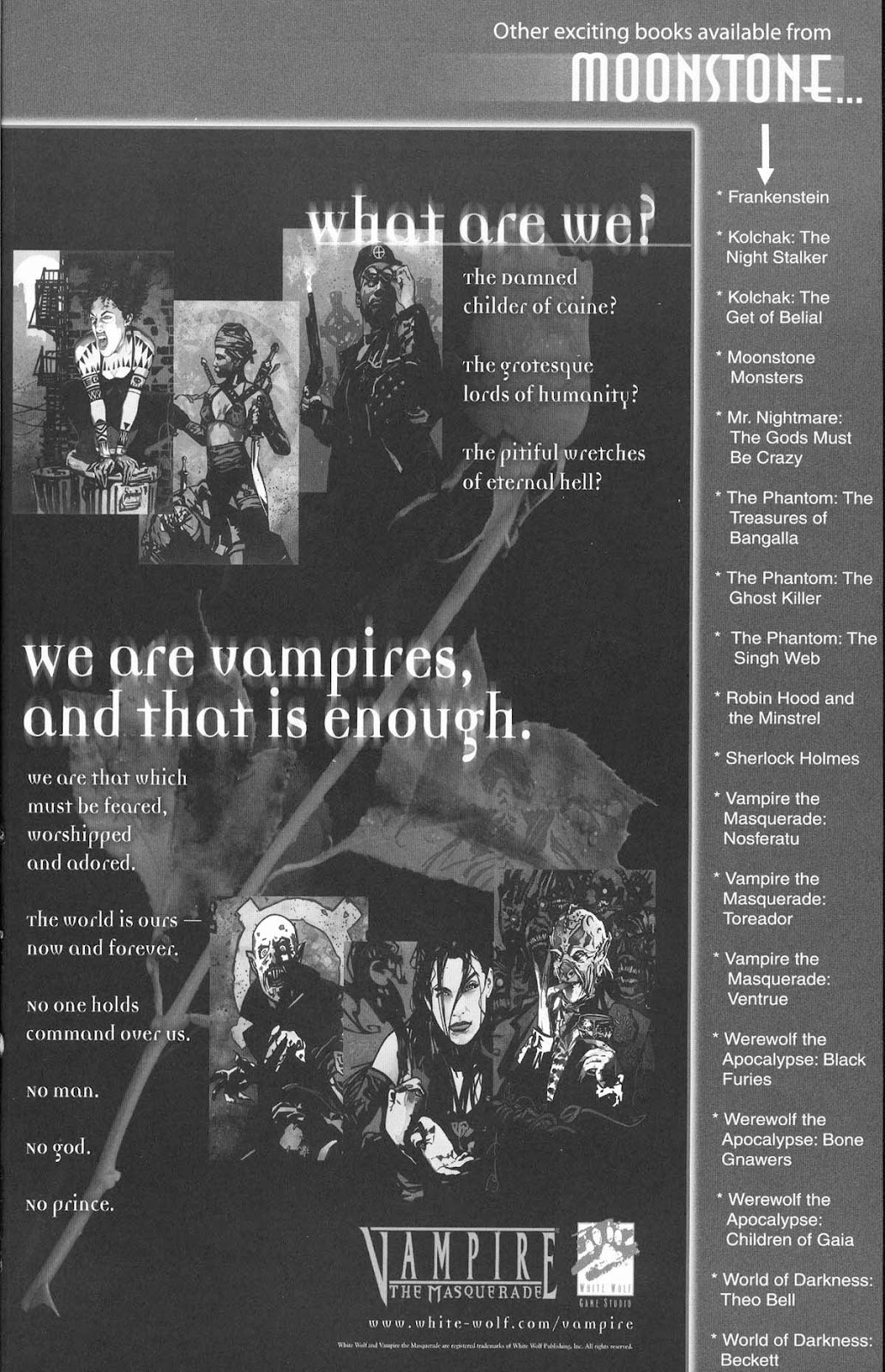 Read online Vampire the Masquerade comic -  Issue # Ventrue - 51