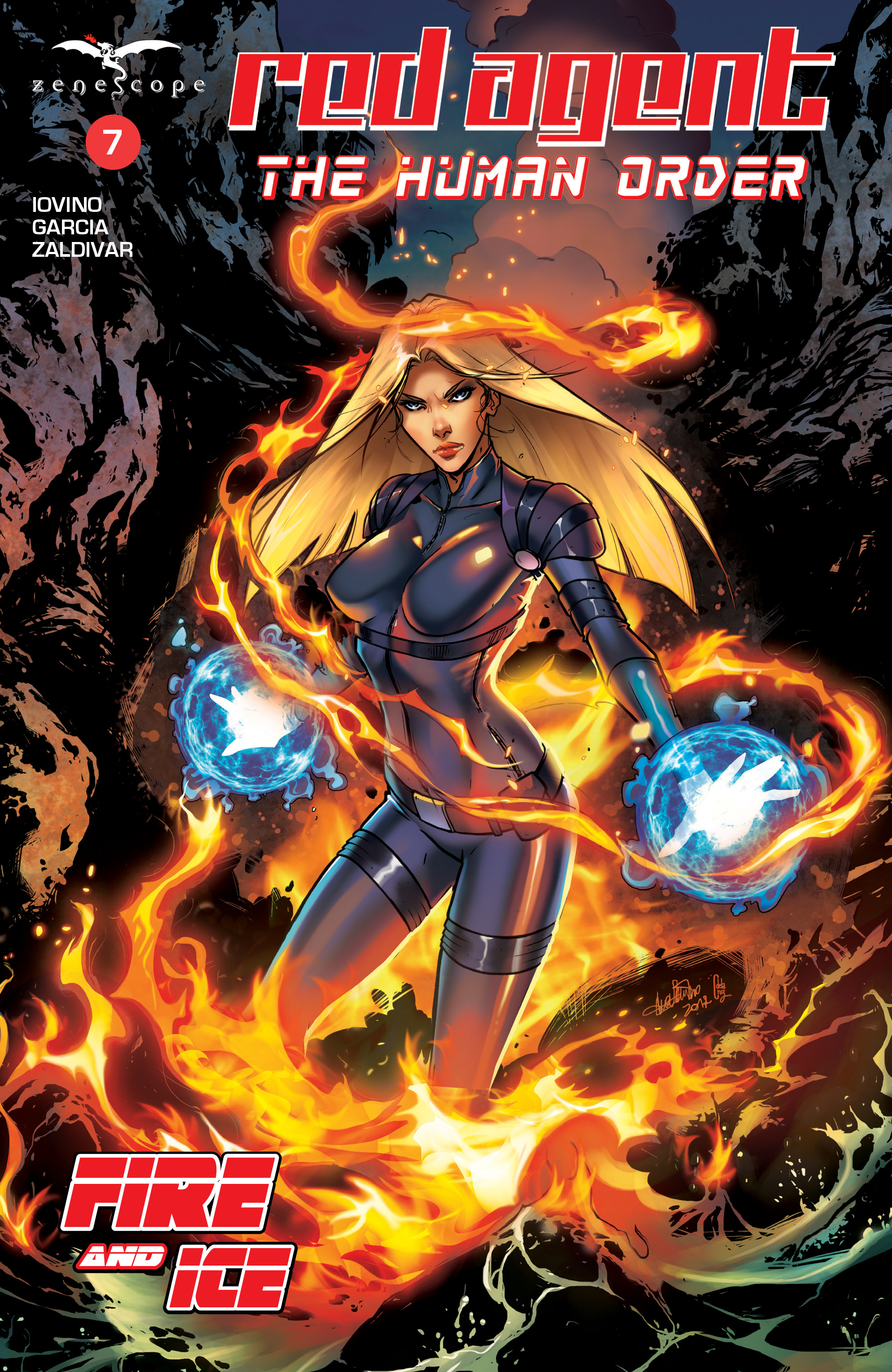 Read online Grimm Fairy Tales presents Red Agent: The Human Order comic -  Issue #7 - 1