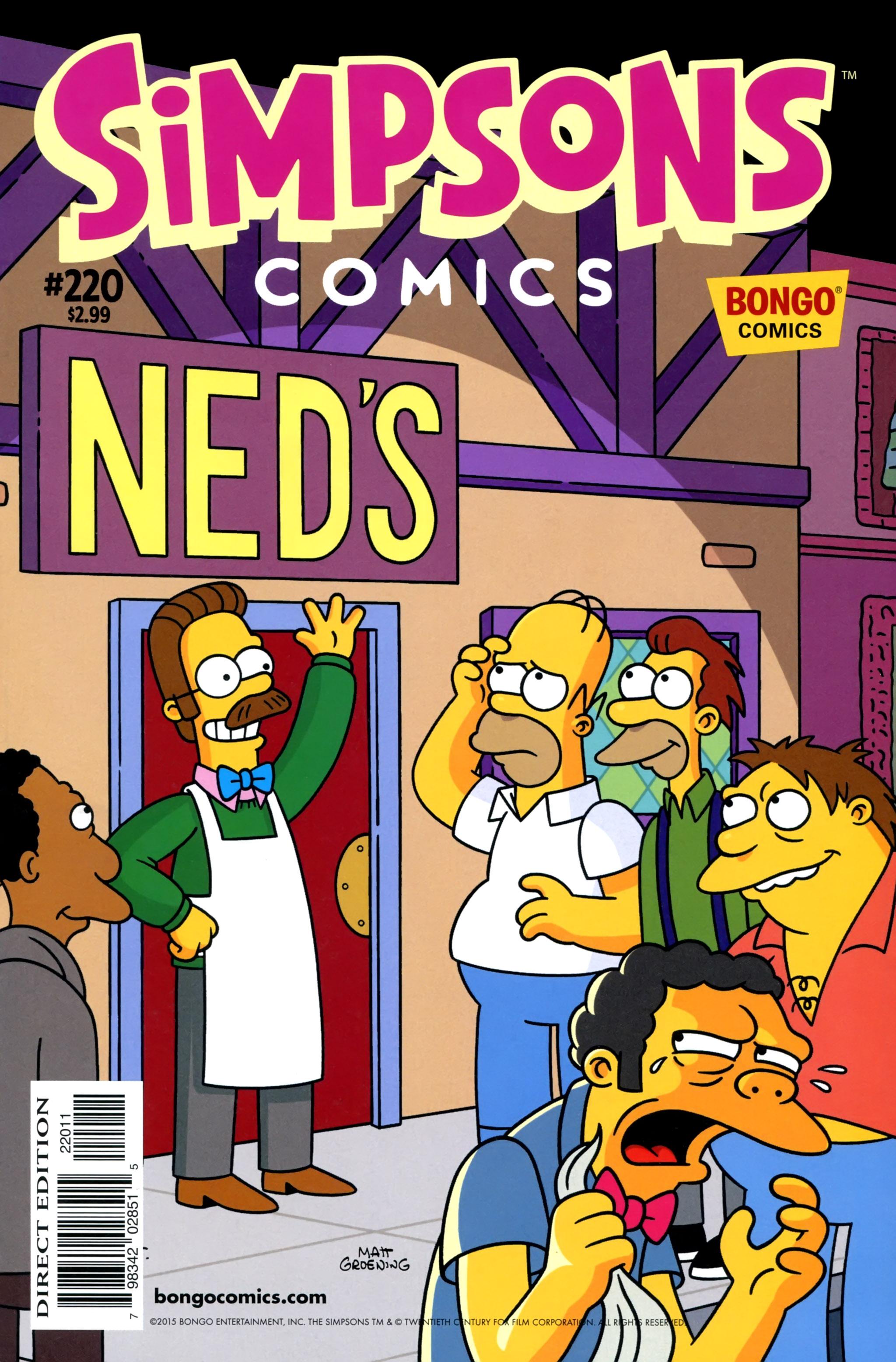 Read online Simpsons Comics comic -  Issue #220 - 1