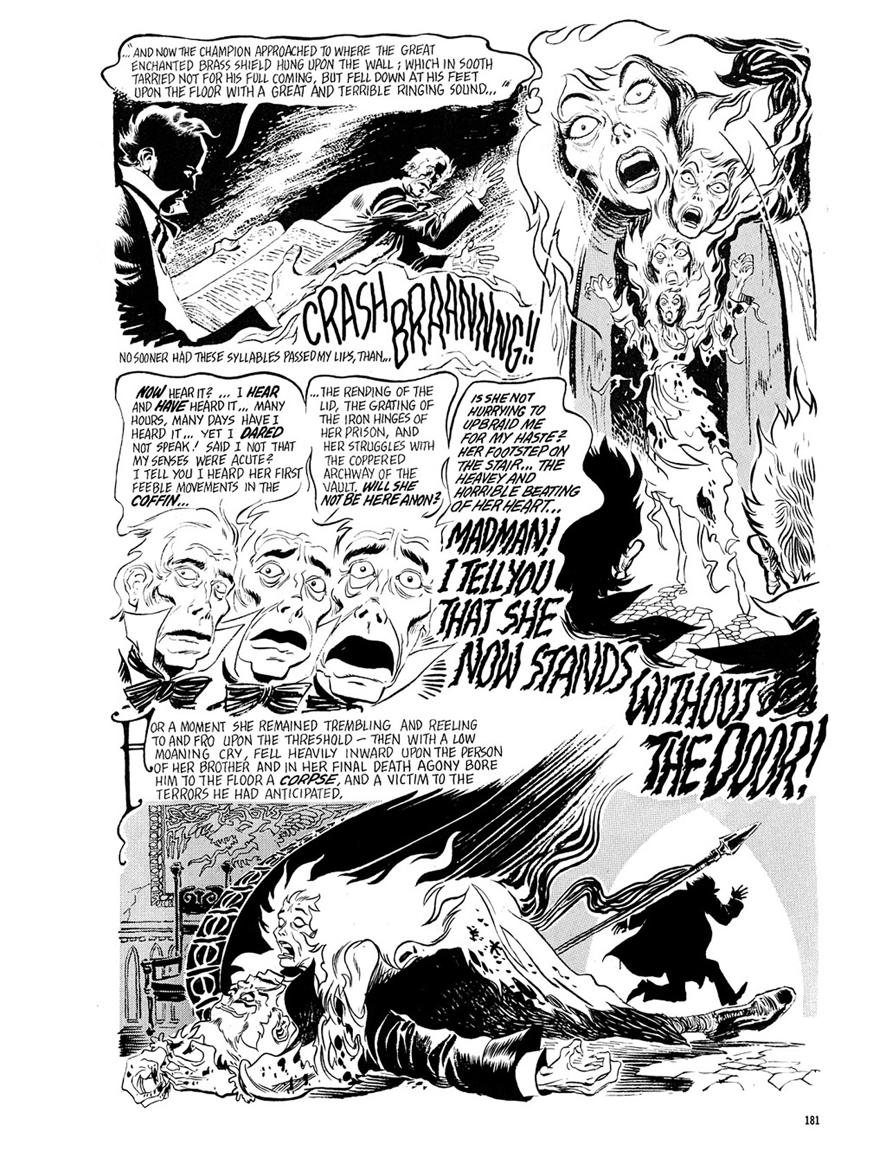 Read online Eerie Archives comic -  Issue # TPB 4 - 181