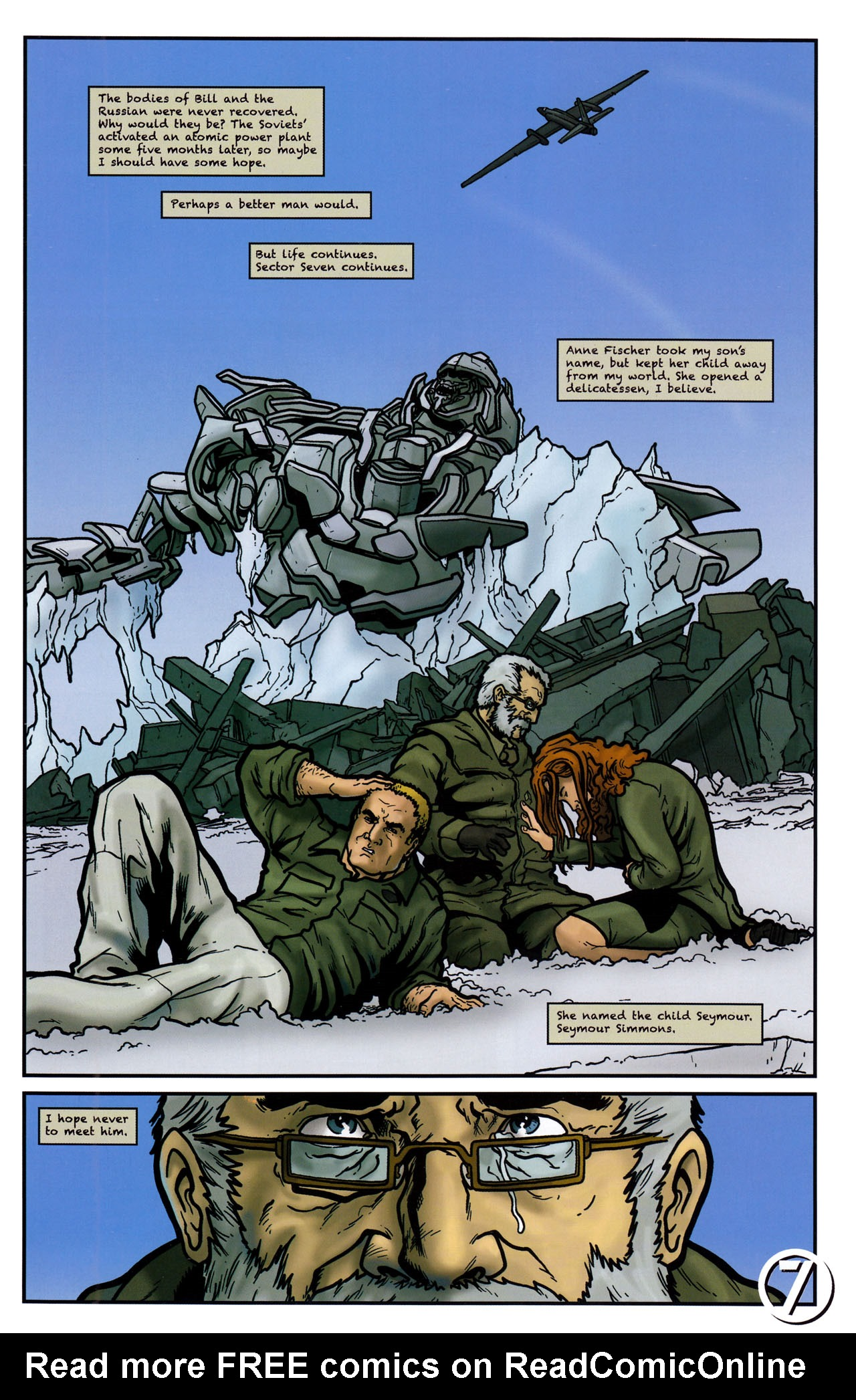 Read online Transformers: Sector 7 comic -  Issue #5 - 23