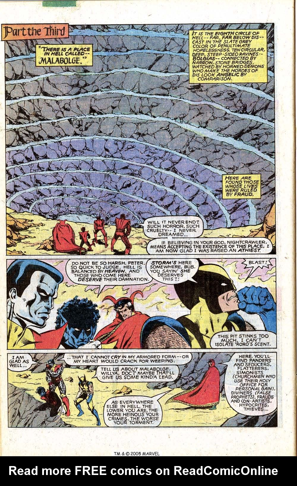Read online Uncanny X-Men (1963) comic -  Issue # _Annual 4 - 36
