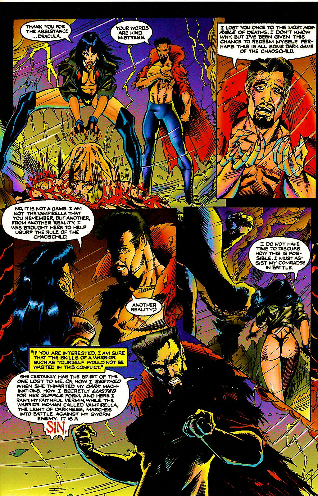 Read online Chains of Chaos comic -  Issue #3 - 21