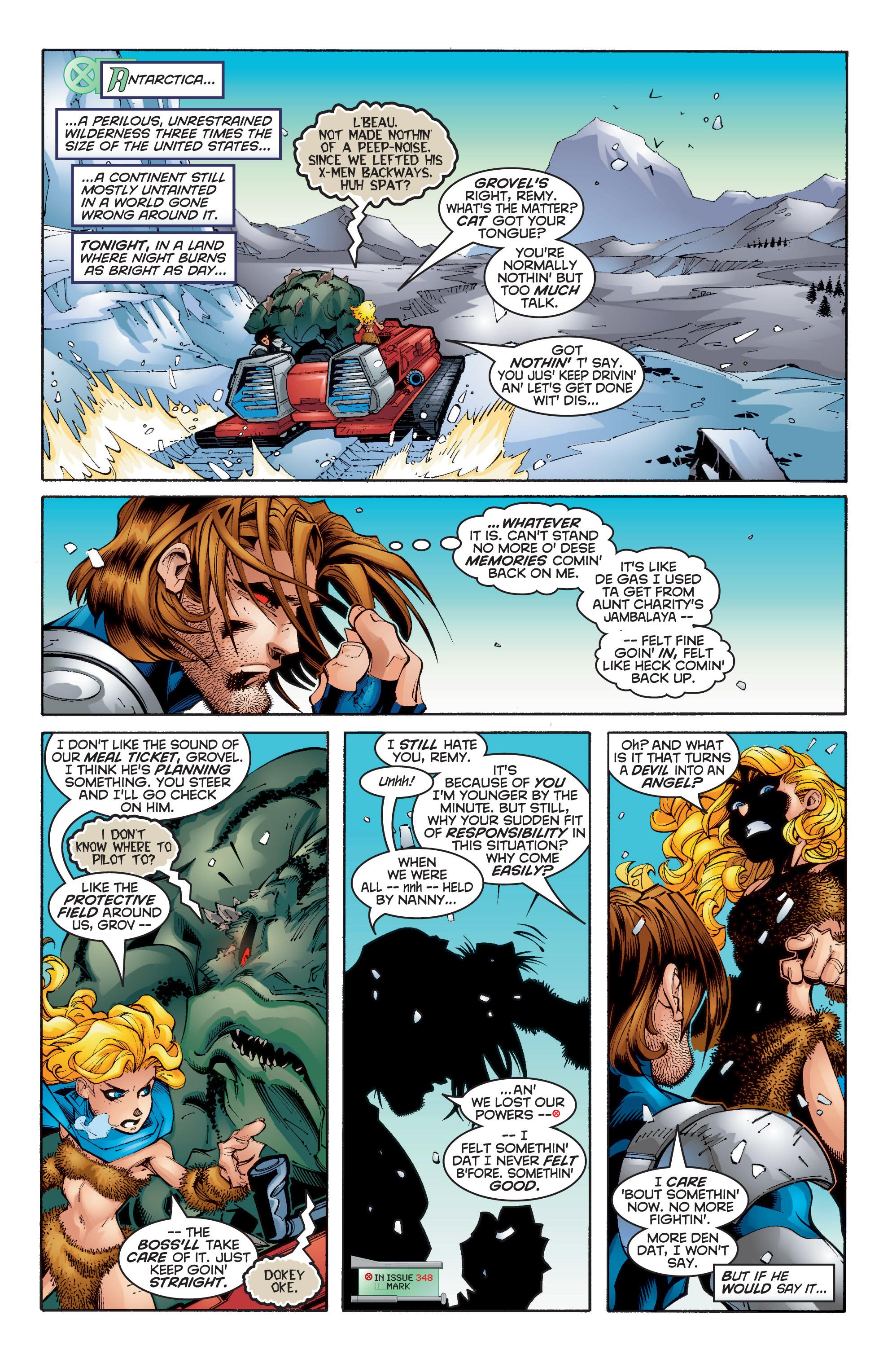 Read online Uncanny X-Men (1963) comic -  Issue #350 - 7