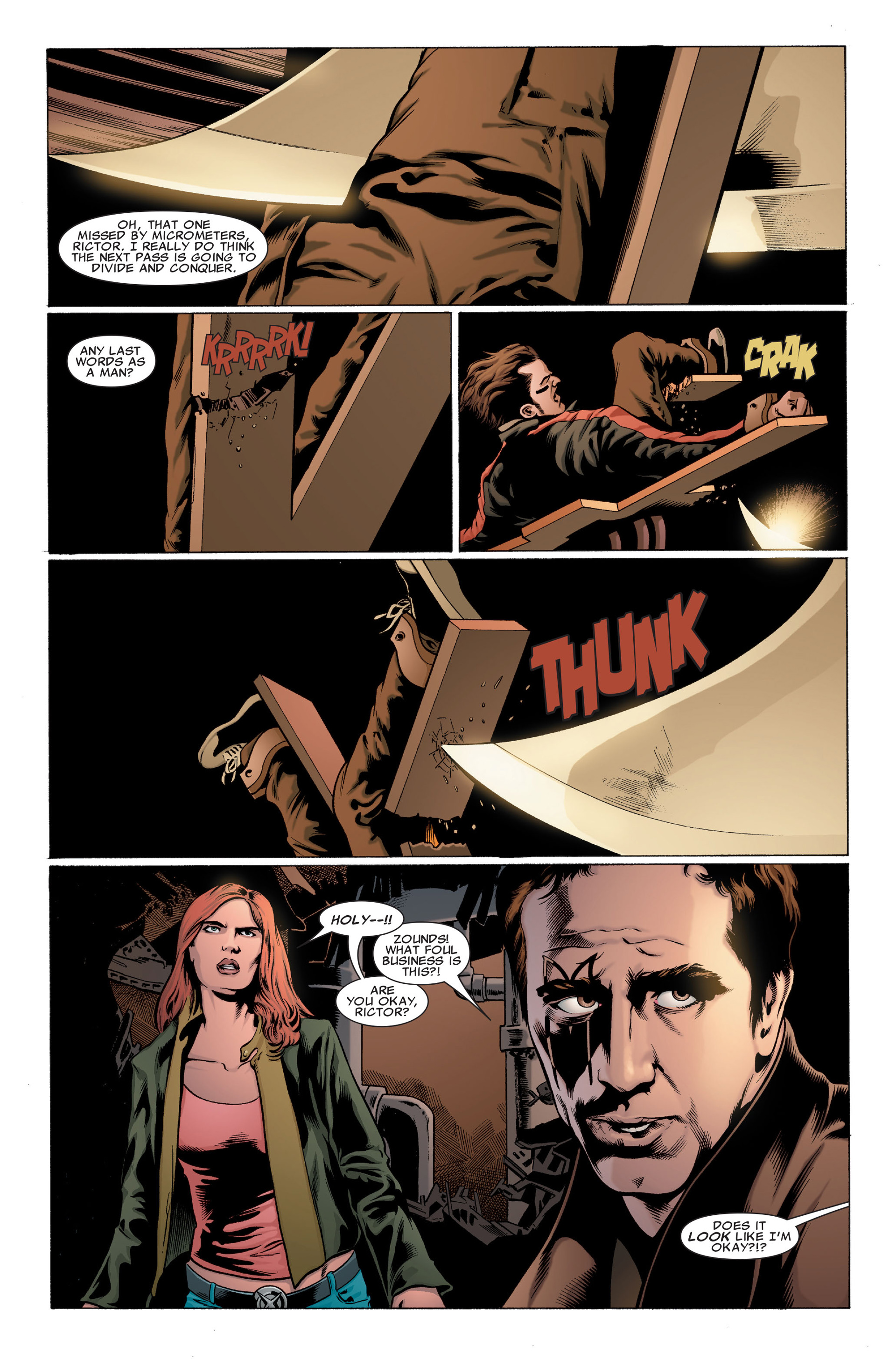 Read online X-Factor (2006) comic -  Issue #30 - 10