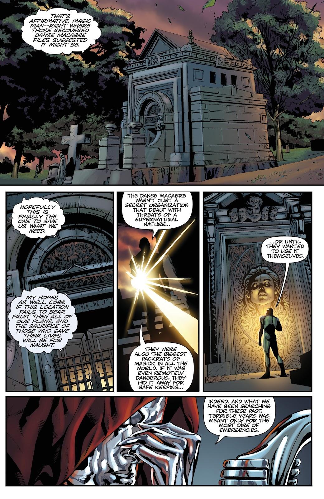 Read online Vengeance of Vampirella (2019) comic -  Issue #1 - 13