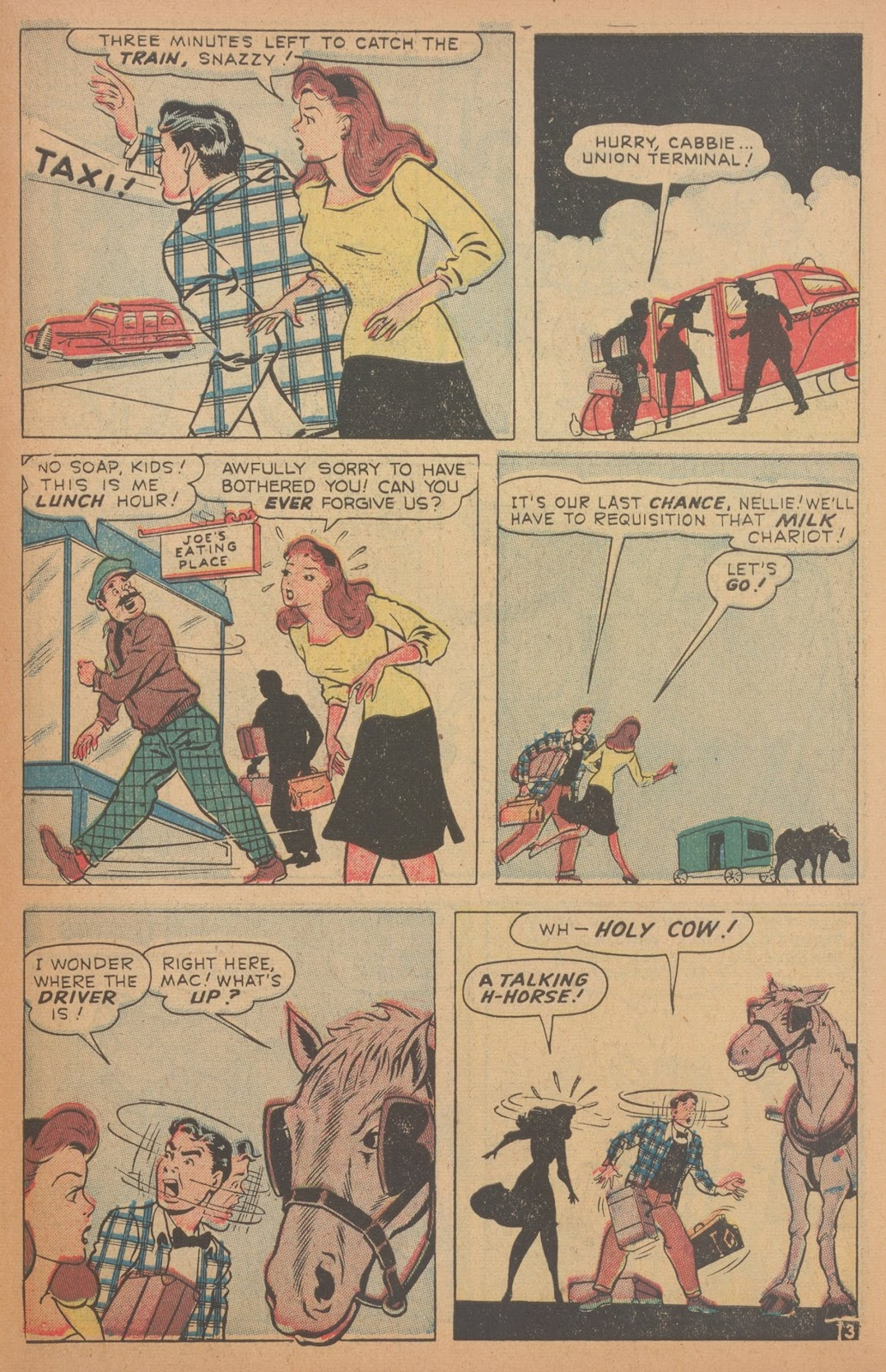 Read online Nellie The Nurse (1945) comic -  Issue #18 - 43
