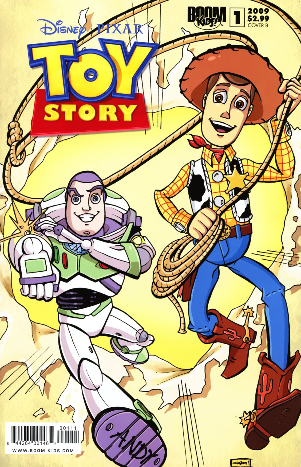 Read online Toy Story (2009) comic -  Issue #1 - 2