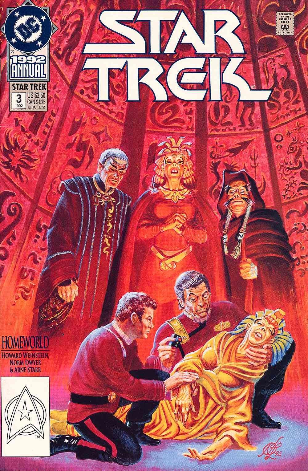 Read online Star Trek (1989) comic -  Issue # Annual 3 - 1