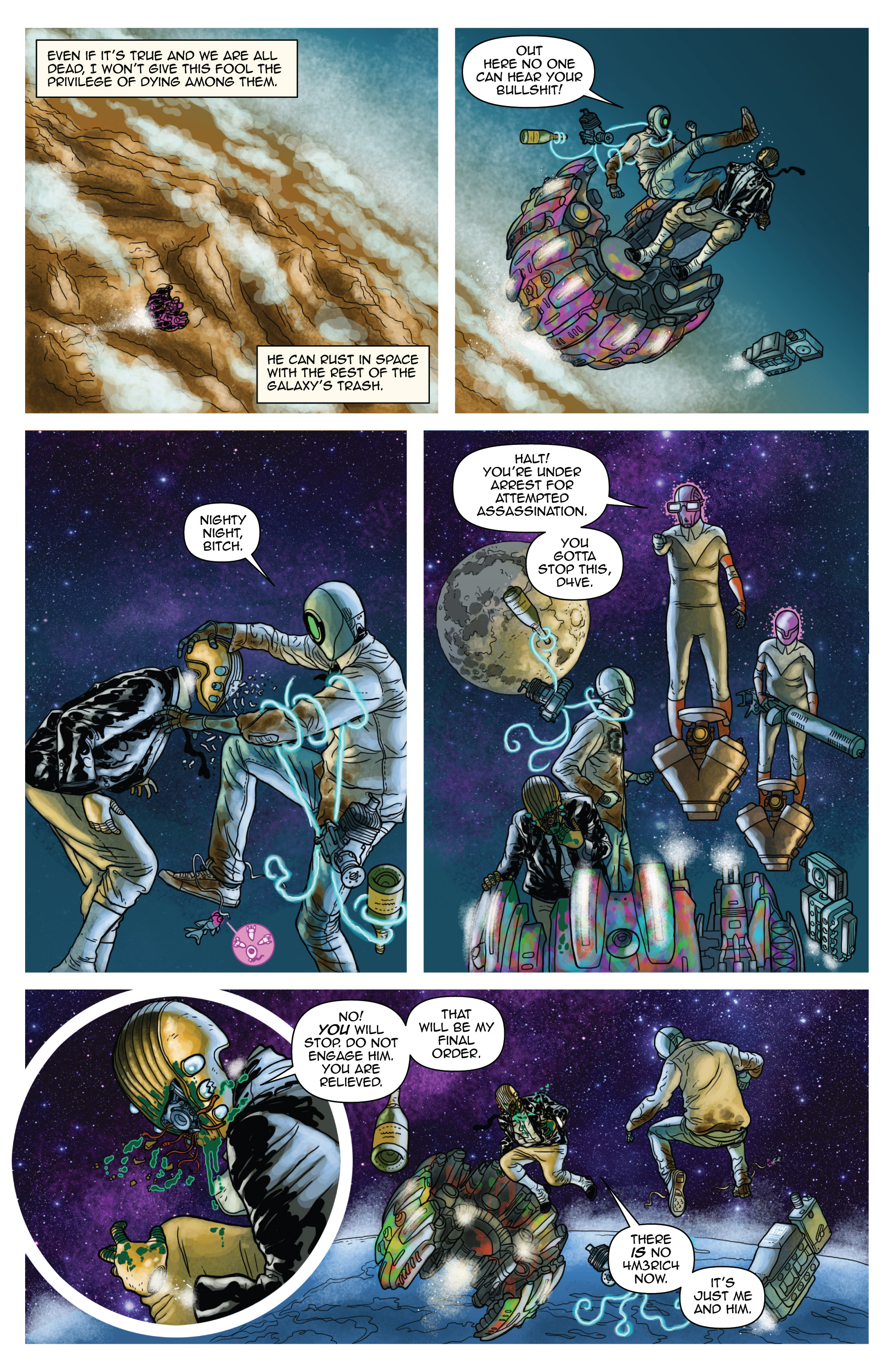 Read online D4VEocracy comic -  Issue #4 - 15