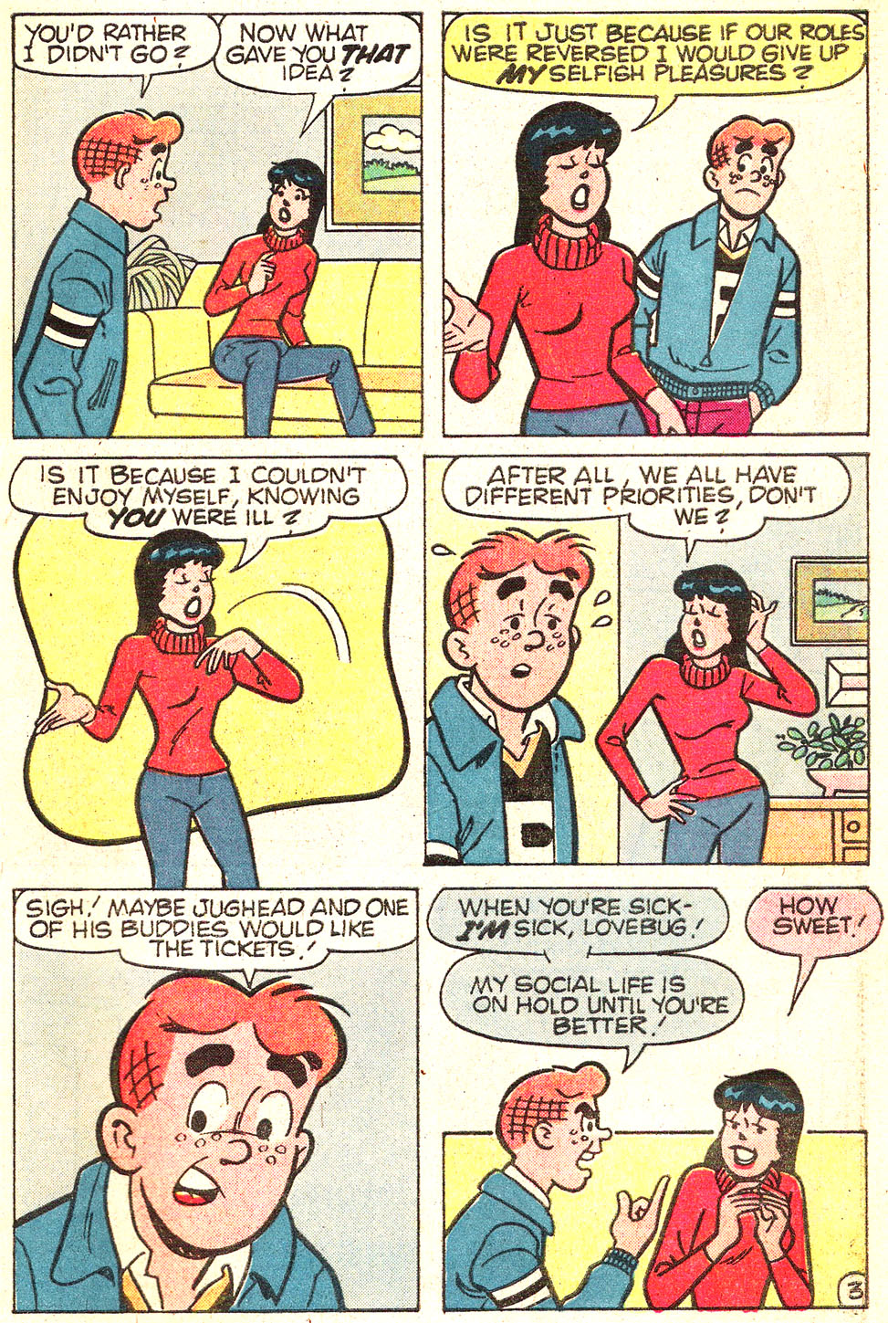 Read online Archie's Girls Betty and Veronica comic -  Issue #313 - 31