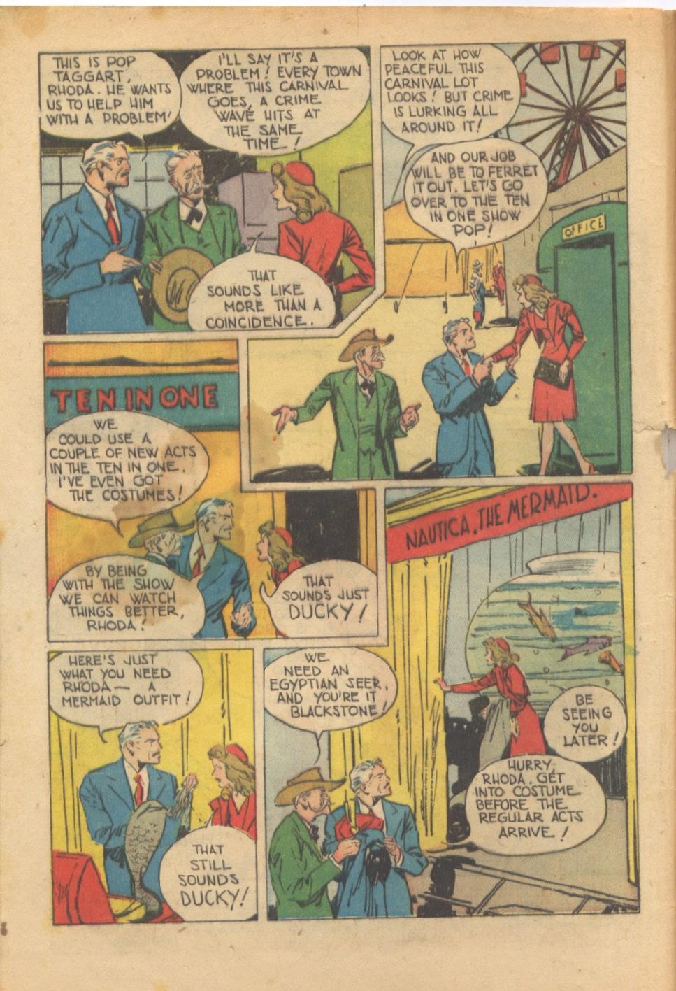 Read online Super-Magician Comics comic -  Issue #37 - 3